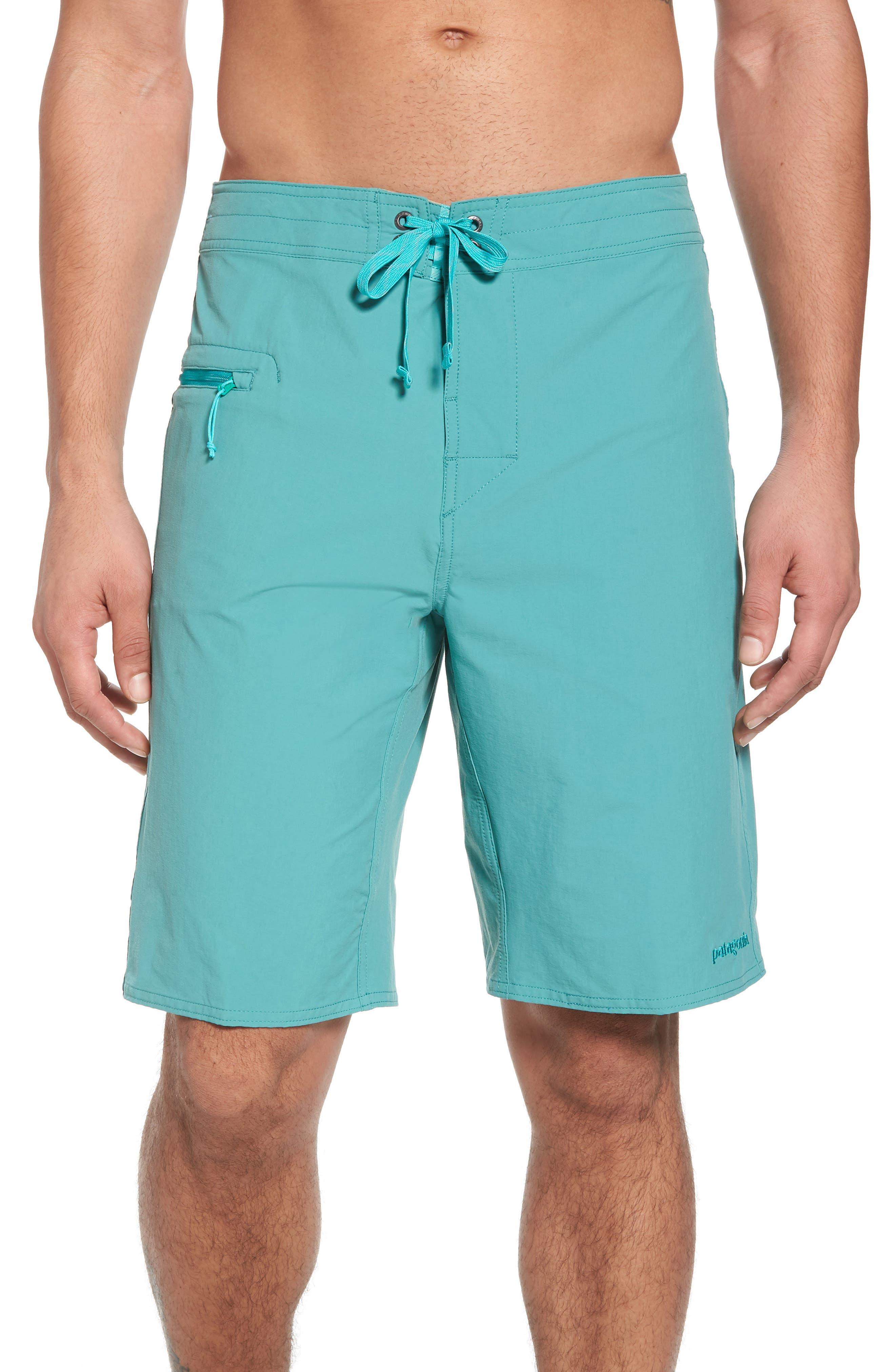 Wavefarer Board Shorts,                         Main,                         color, Beryl Green