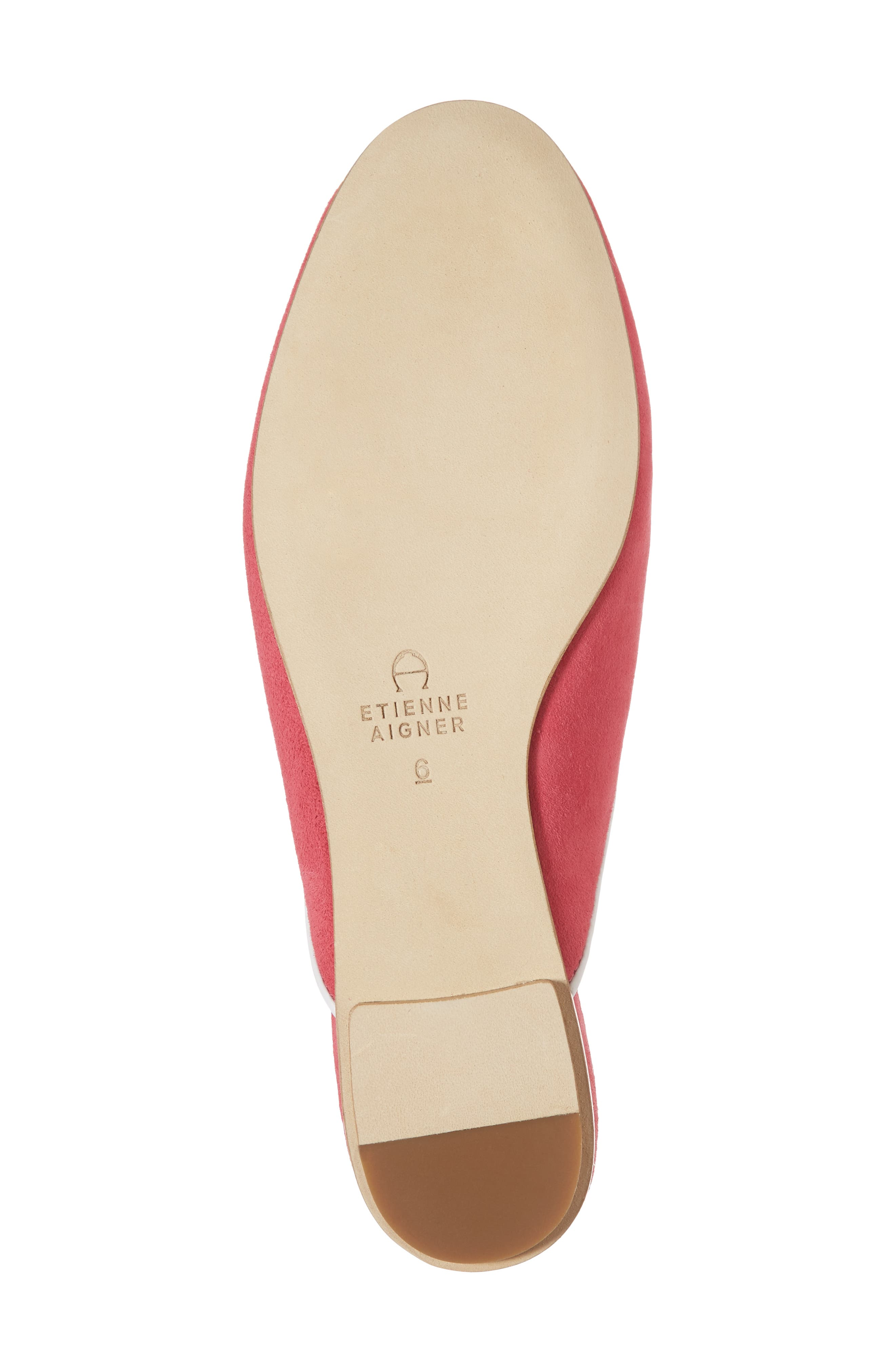 Caymen Mule,                             Alternate thumbnail 6, color,                             Natural/ Peony/ White
