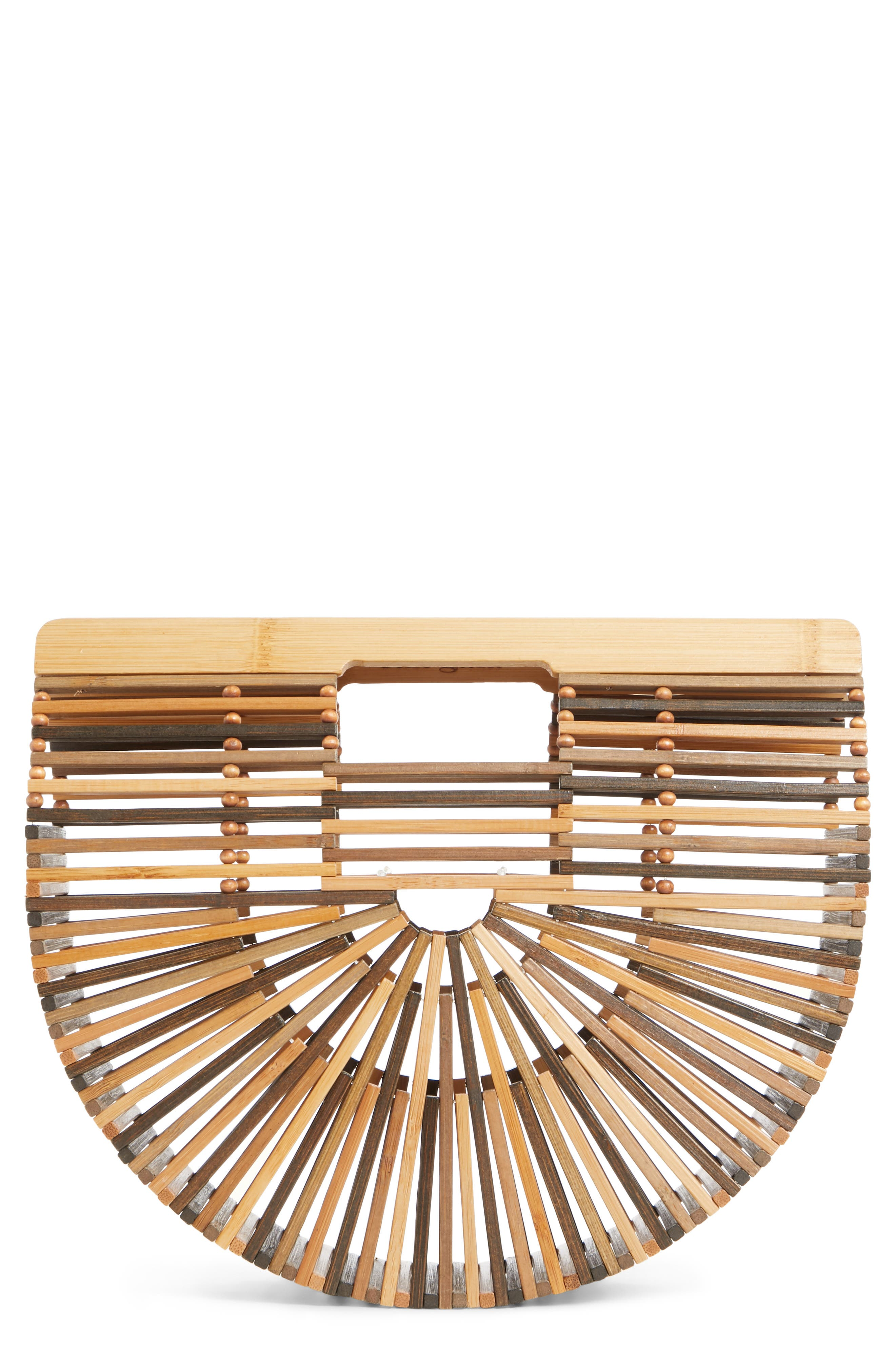 Cult Gaia Small Ark Bamboo Handbag