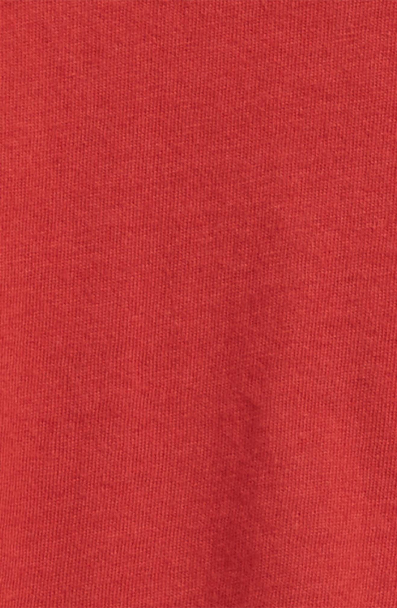 Organic Cotton T-Shirt,                             Alternate thumbnail 2, color,                             Red Barn