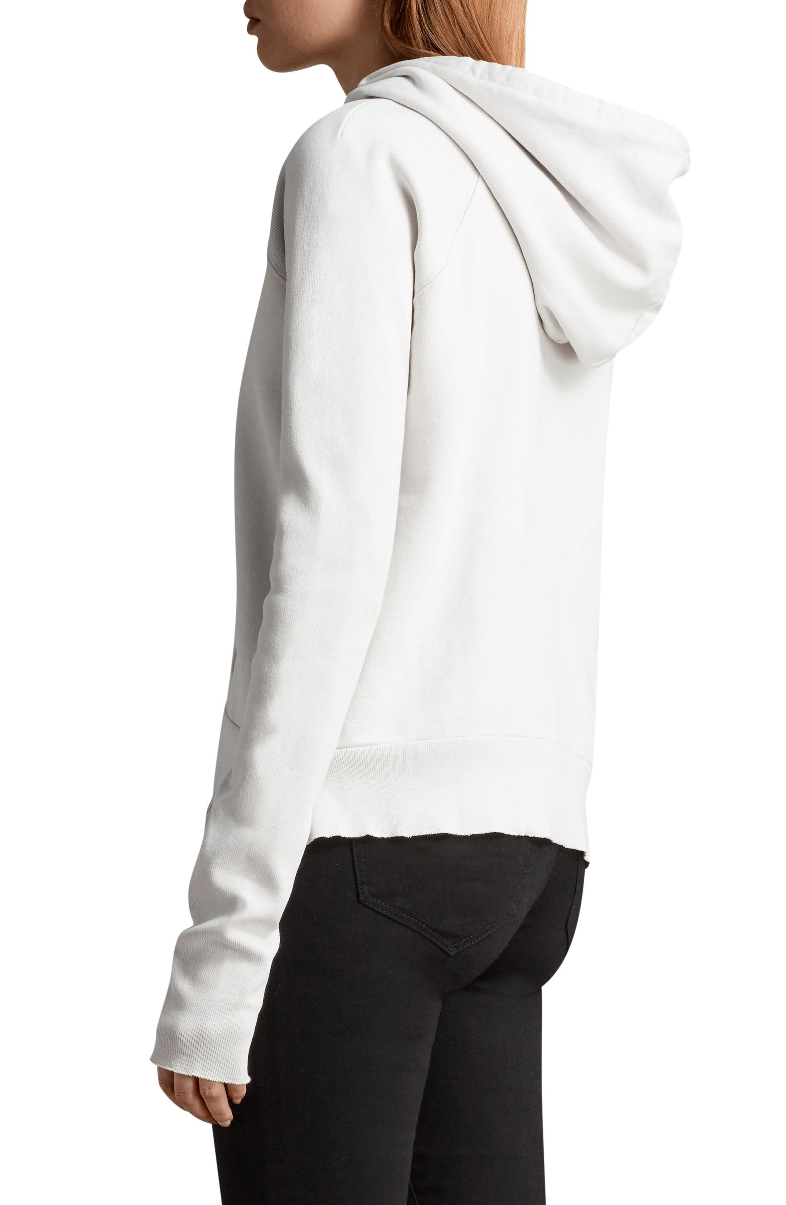 Ivy Hoodie,                             Alternate thumbnail 3, color,                             Ivory White