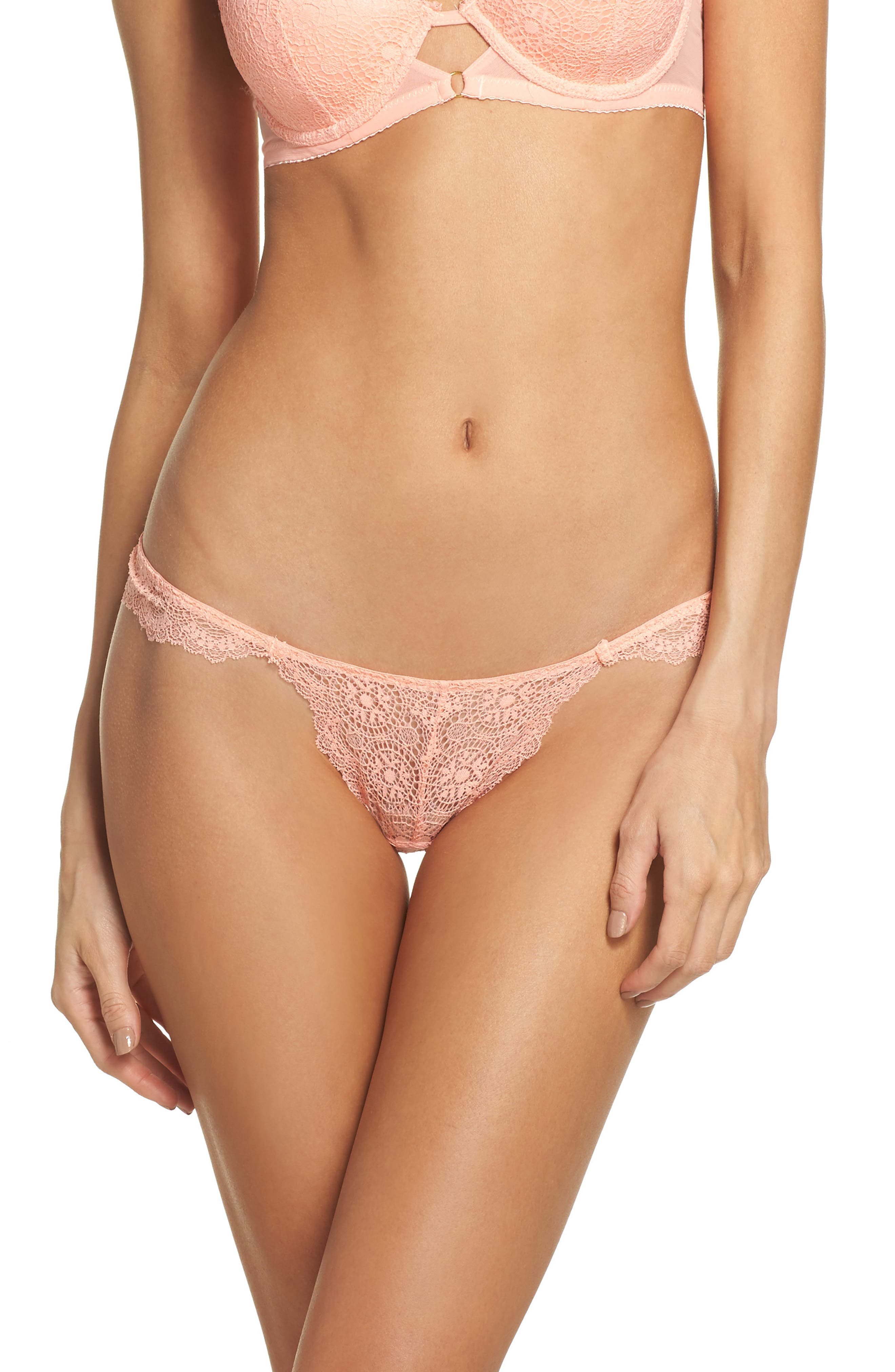Sam Edelman Flutter Lace Thong (3 for $33)