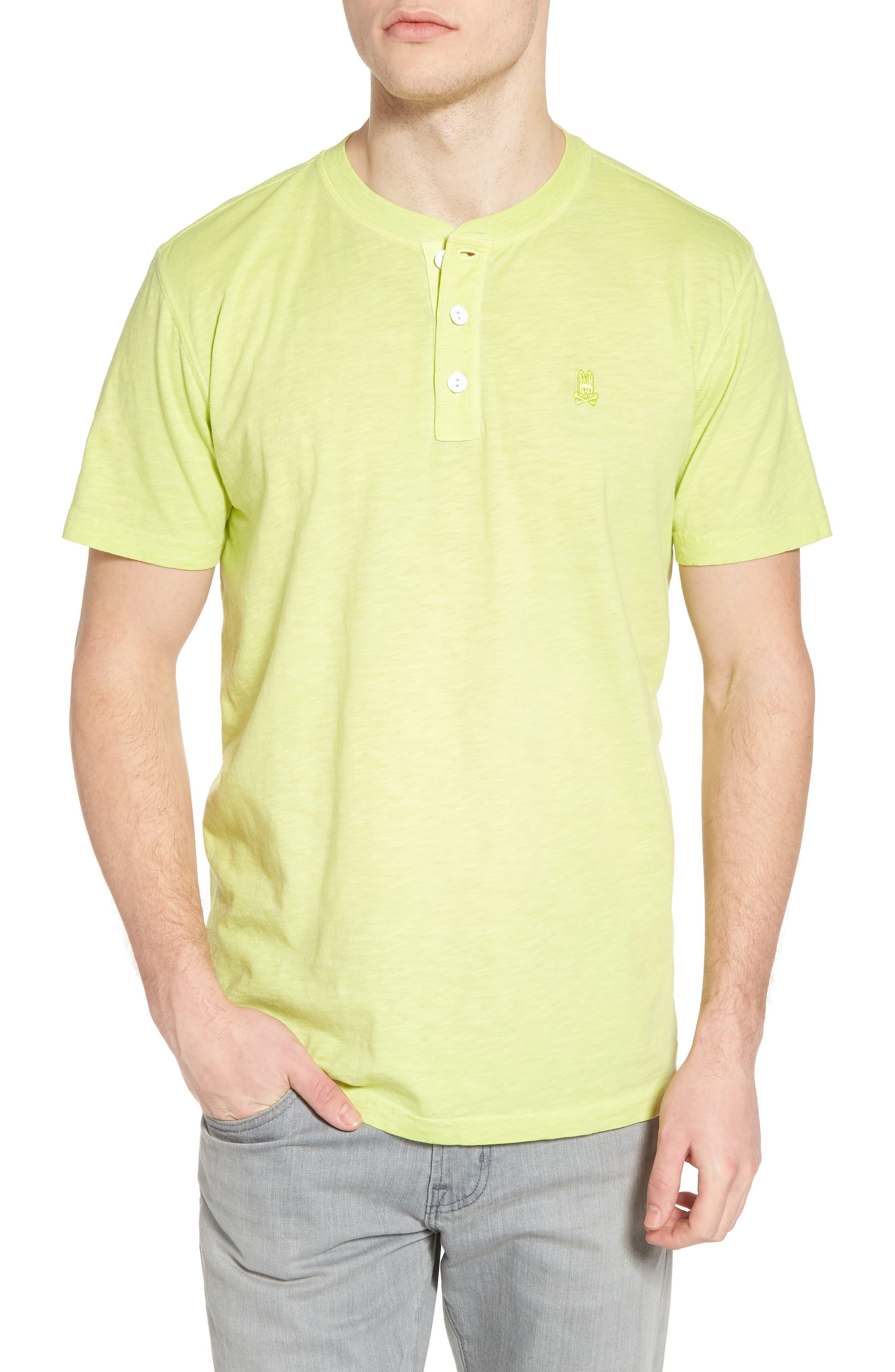 Psycho Bunny Sunwash Henley T-Shirt