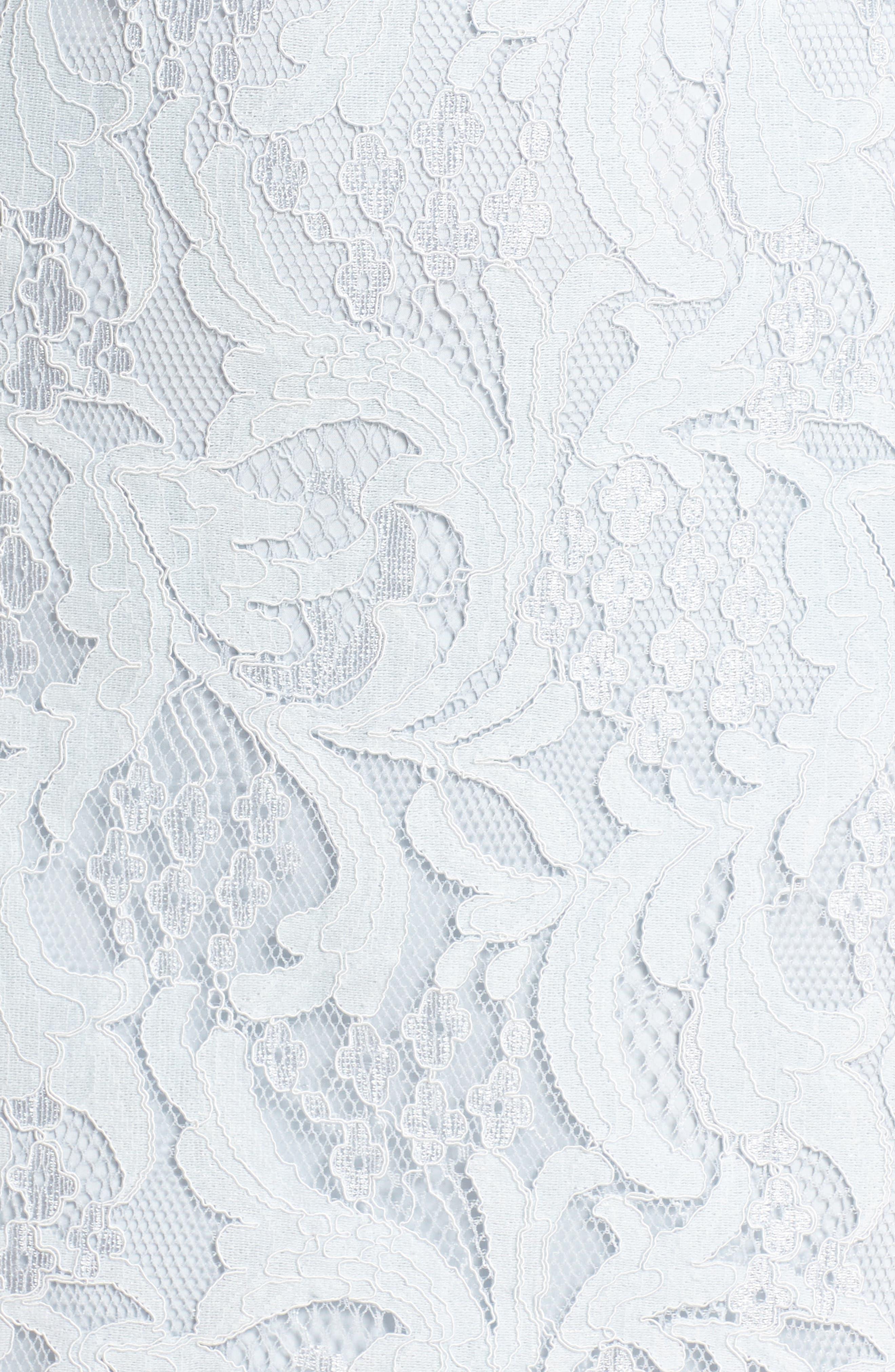 Alternate Image 5  - Adelyn Rae Delilah Lace Sheath Dress