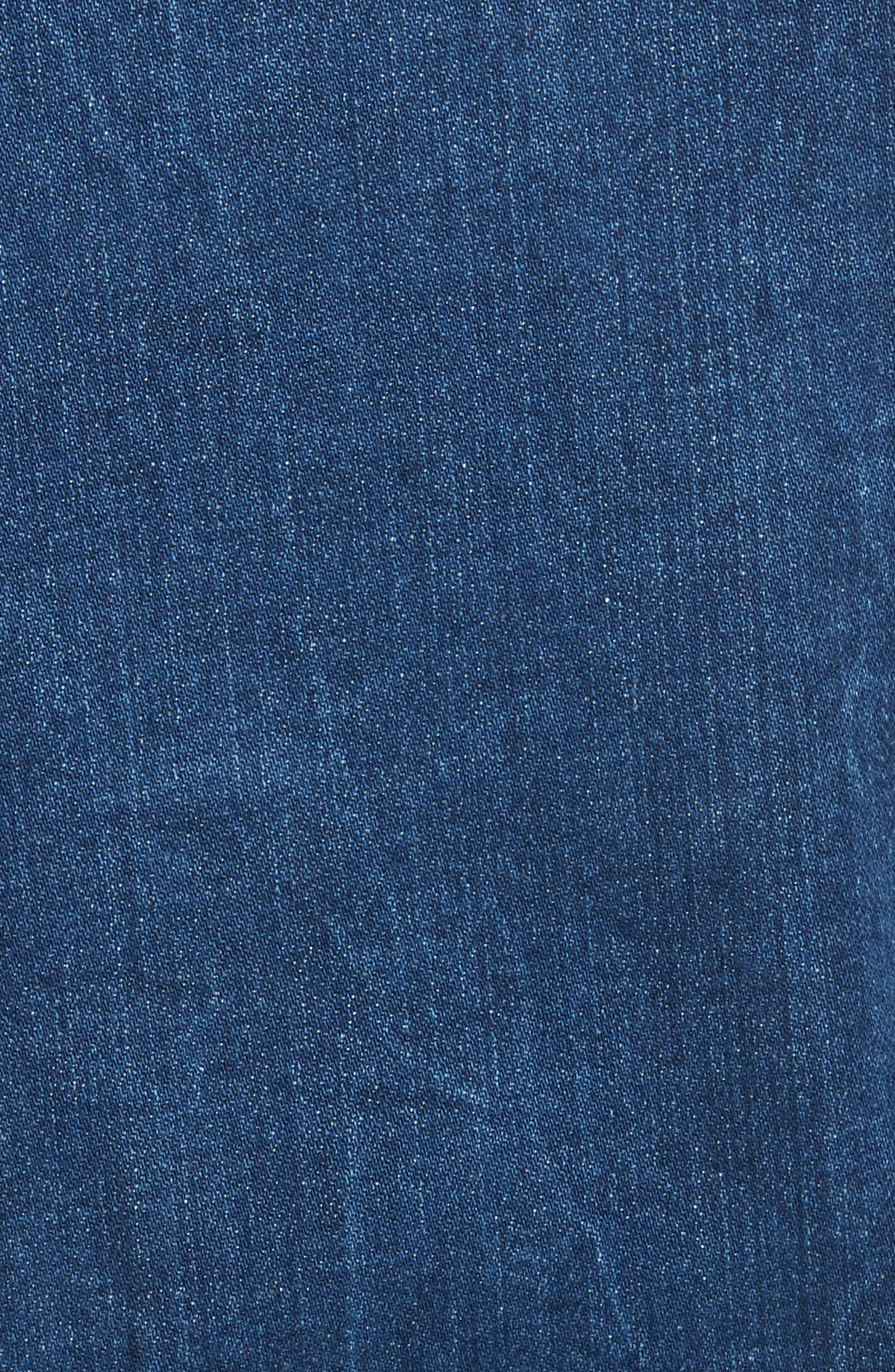 Le Vintage Denim Jacket,                             Alternate thumbnail 6, color,                             Waltham Way