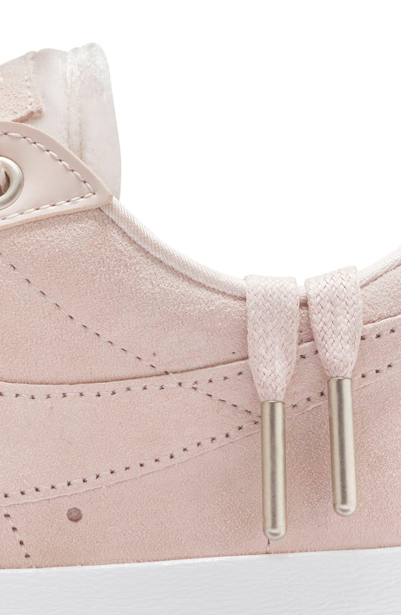 Blazer Low LX Sneaker,                             Alternate thumbnail 5, color,                             Silt Red/ Brown/ White