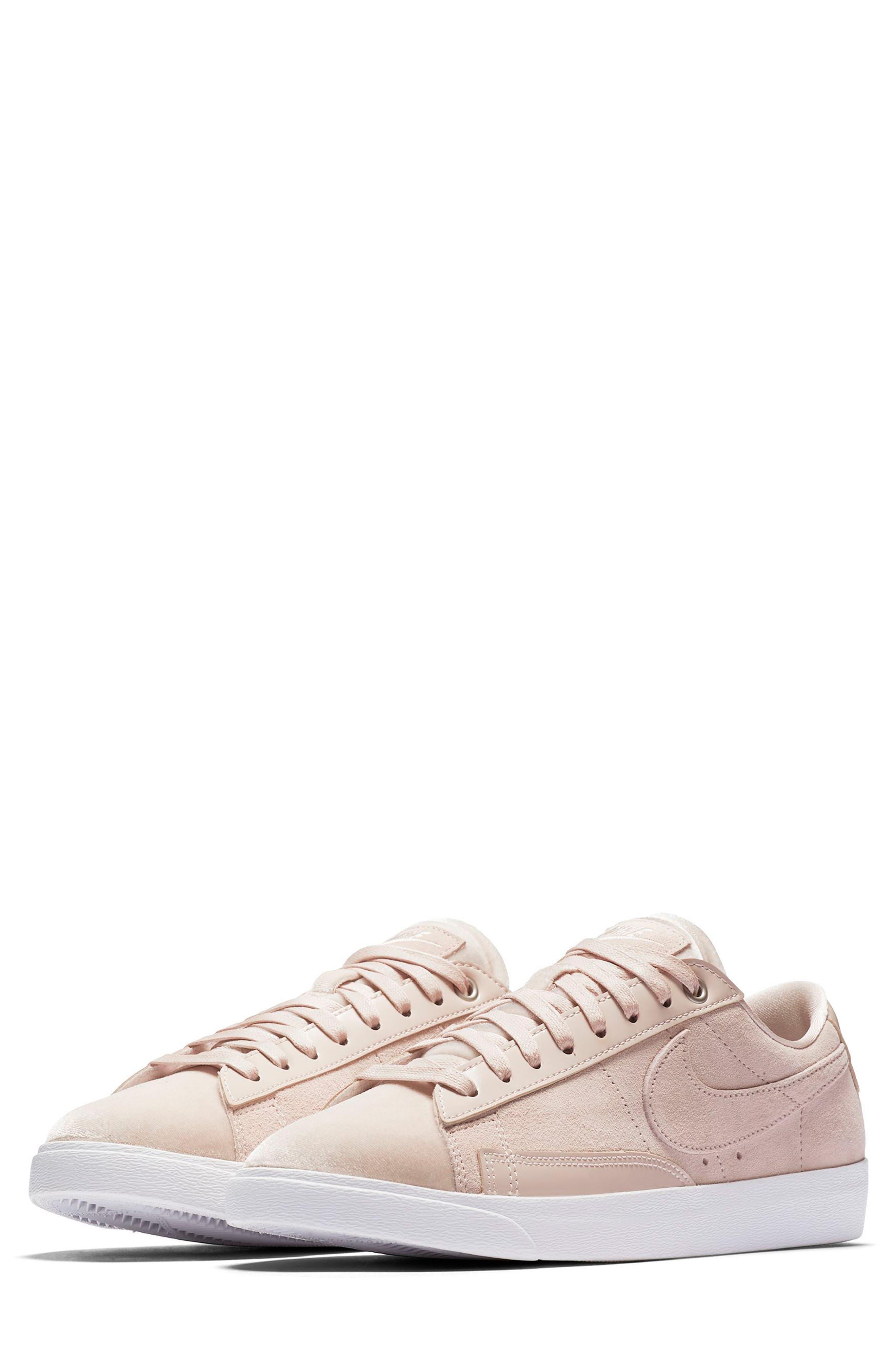 Blazer Low LX Sneaker,                             Main thumbnail 1, color,                             Silt Red/ Brown/ White