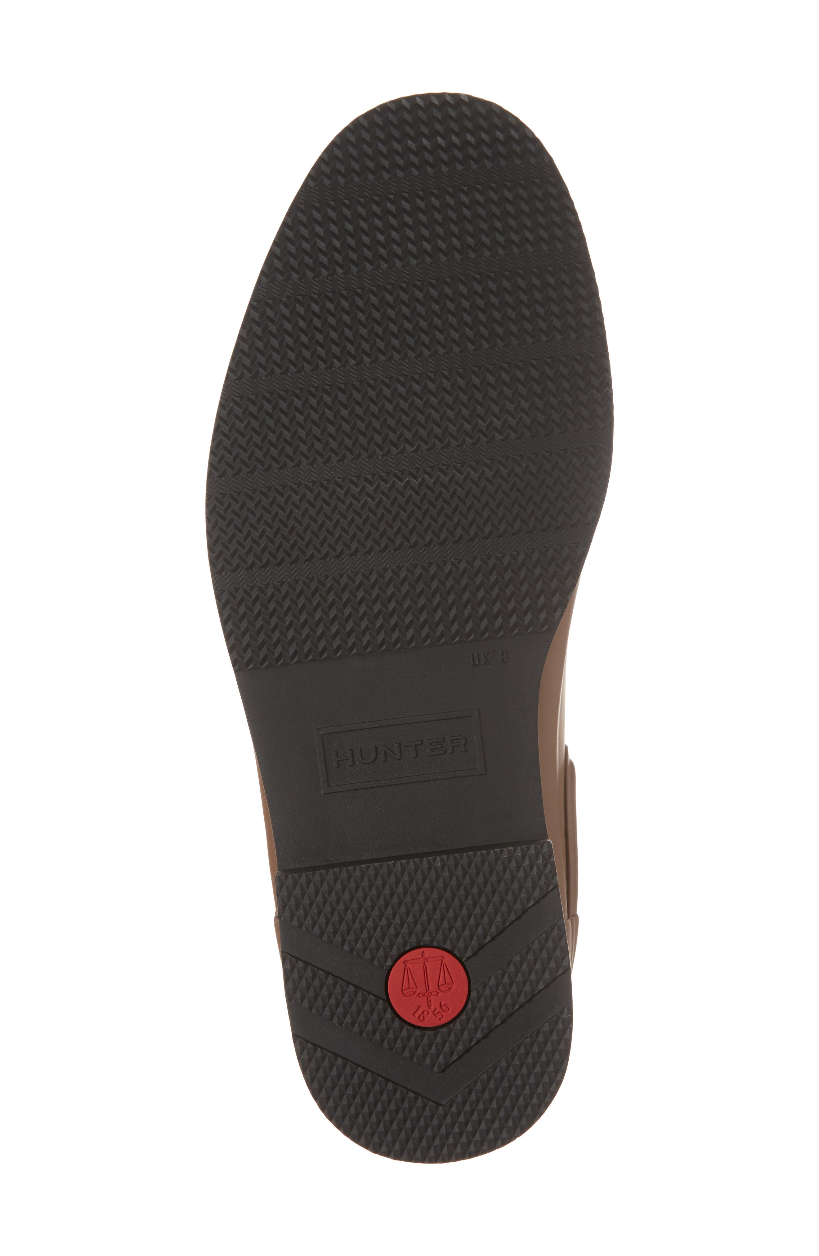 Original Refined Waterproof Chelsea Boot,                             Alternate thumbnail 6, color,                             Soil/ Black