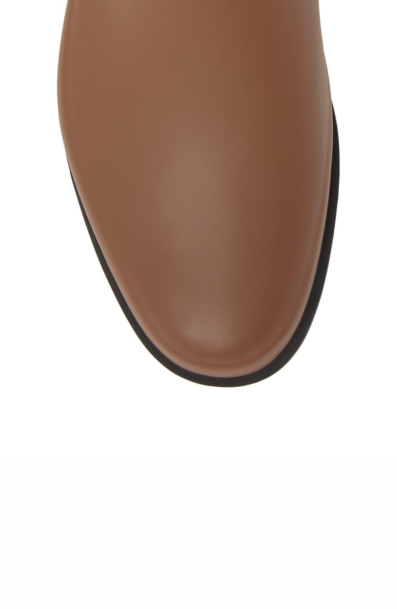 Original Refined Waterproof Chelsea Boot,                             Alternate thumbnail 5, color,                             Soil/ Black