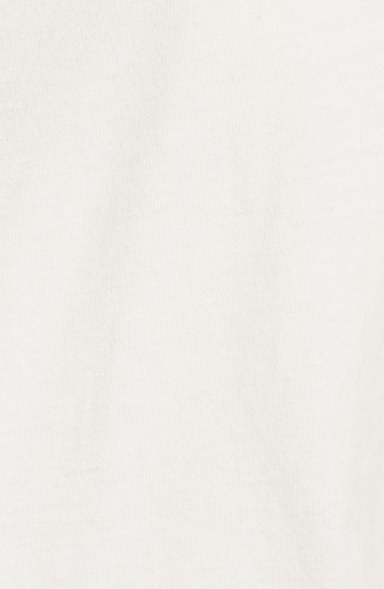 Joan Jett Muscle Tee,                             Alternate thumbnail 5, color,                             Vintage White