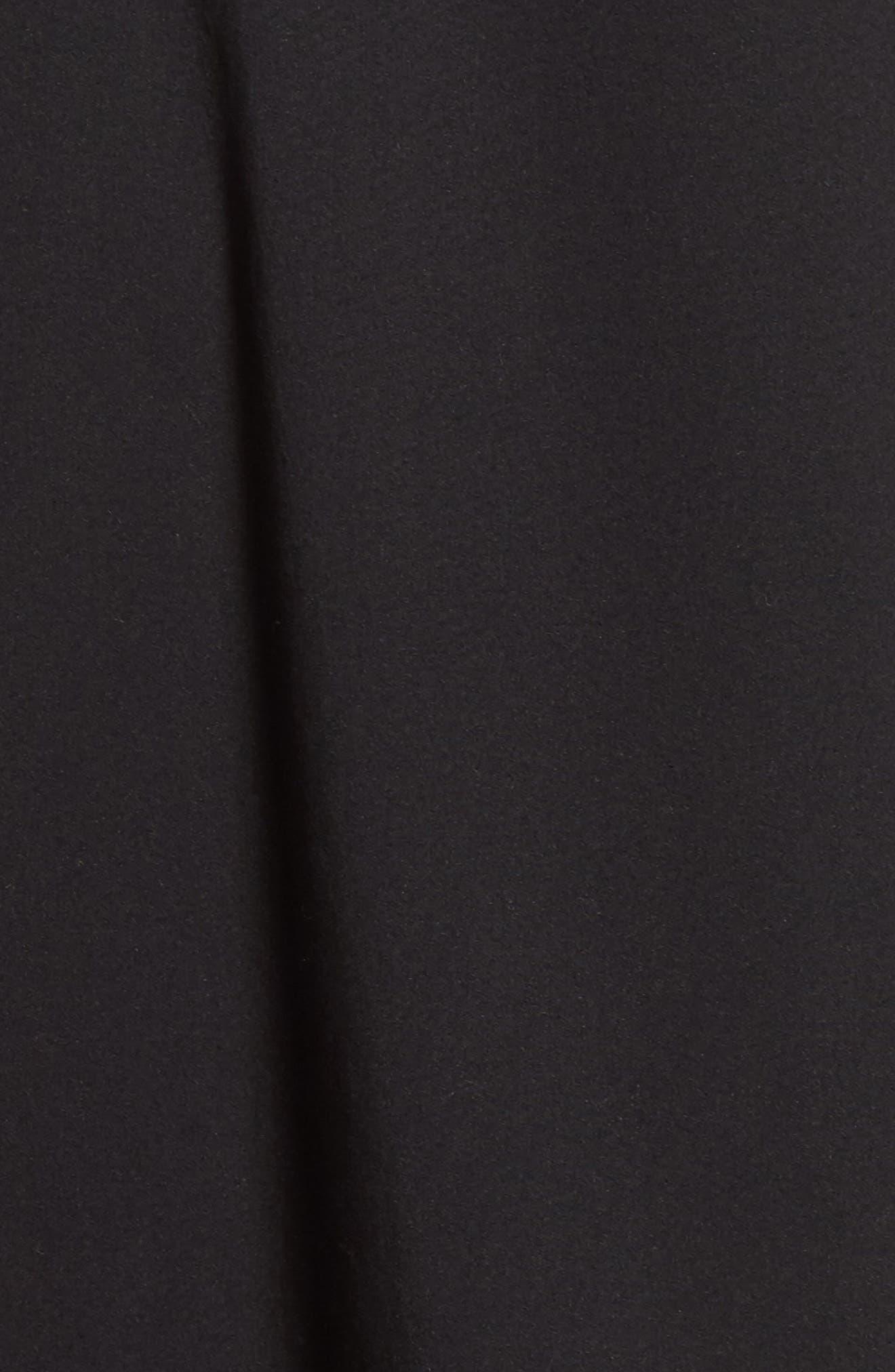 Lafayette 148 Talia Shirtdress,                             Alternate thumbnail 5, color,                             Black