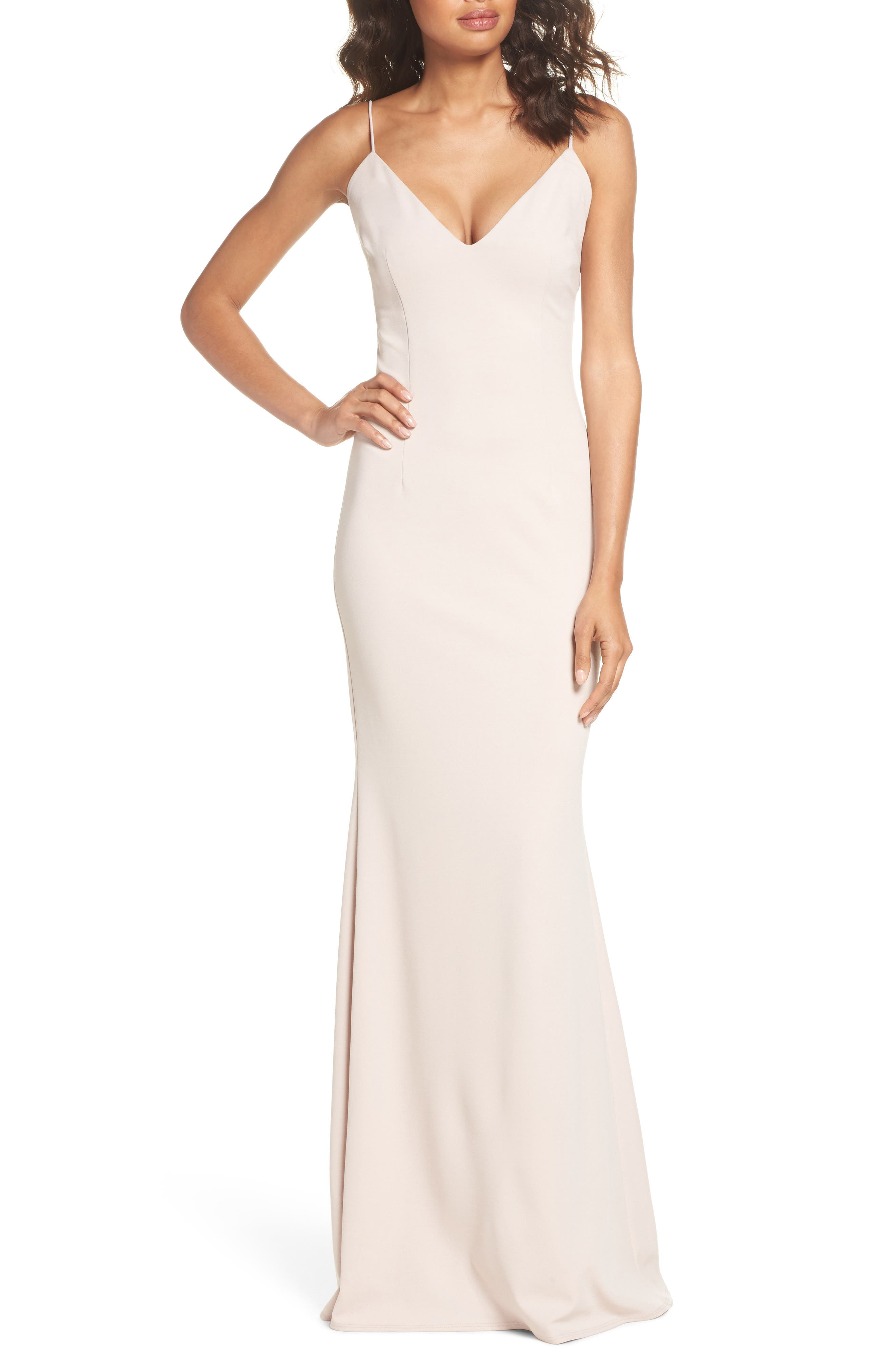 Katie May Bambi Cutout Mermaid Gown