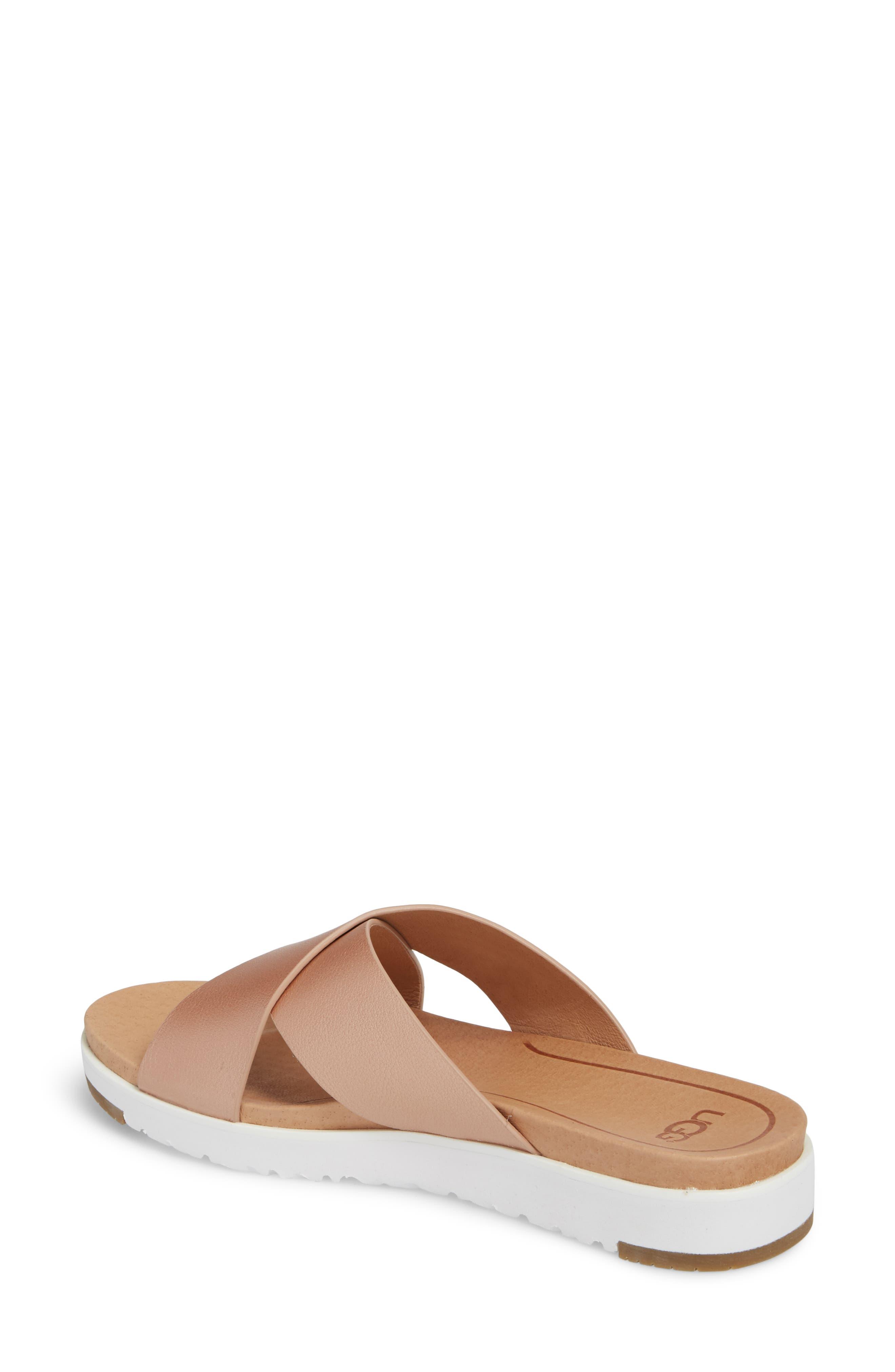 Alternate Image 2  - UGG® Kari Slide Sandal (Women)