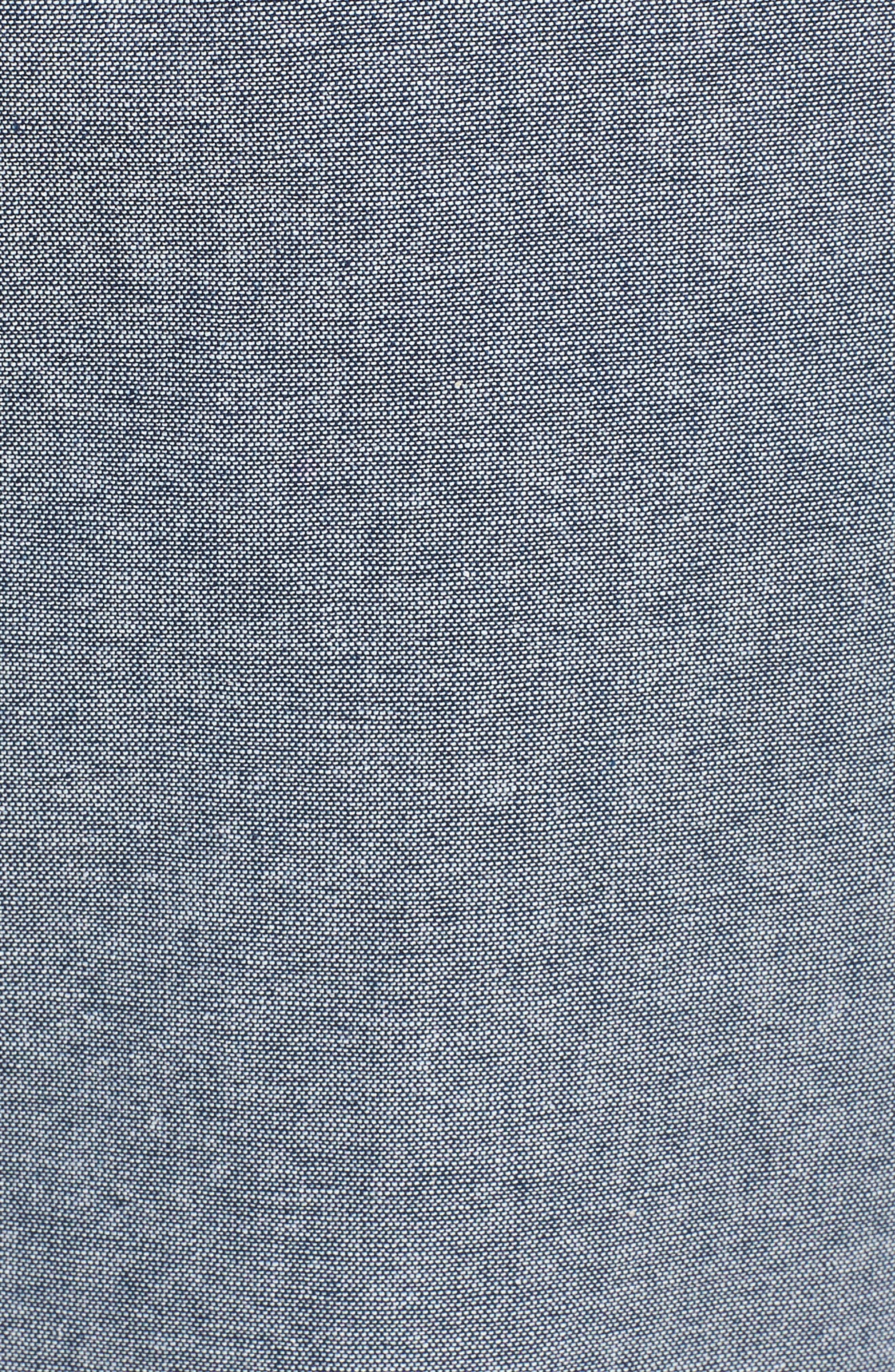 Paperbag Waist Pants,                             Alternate thumbnail 6, color,                             Navy Peacoat
