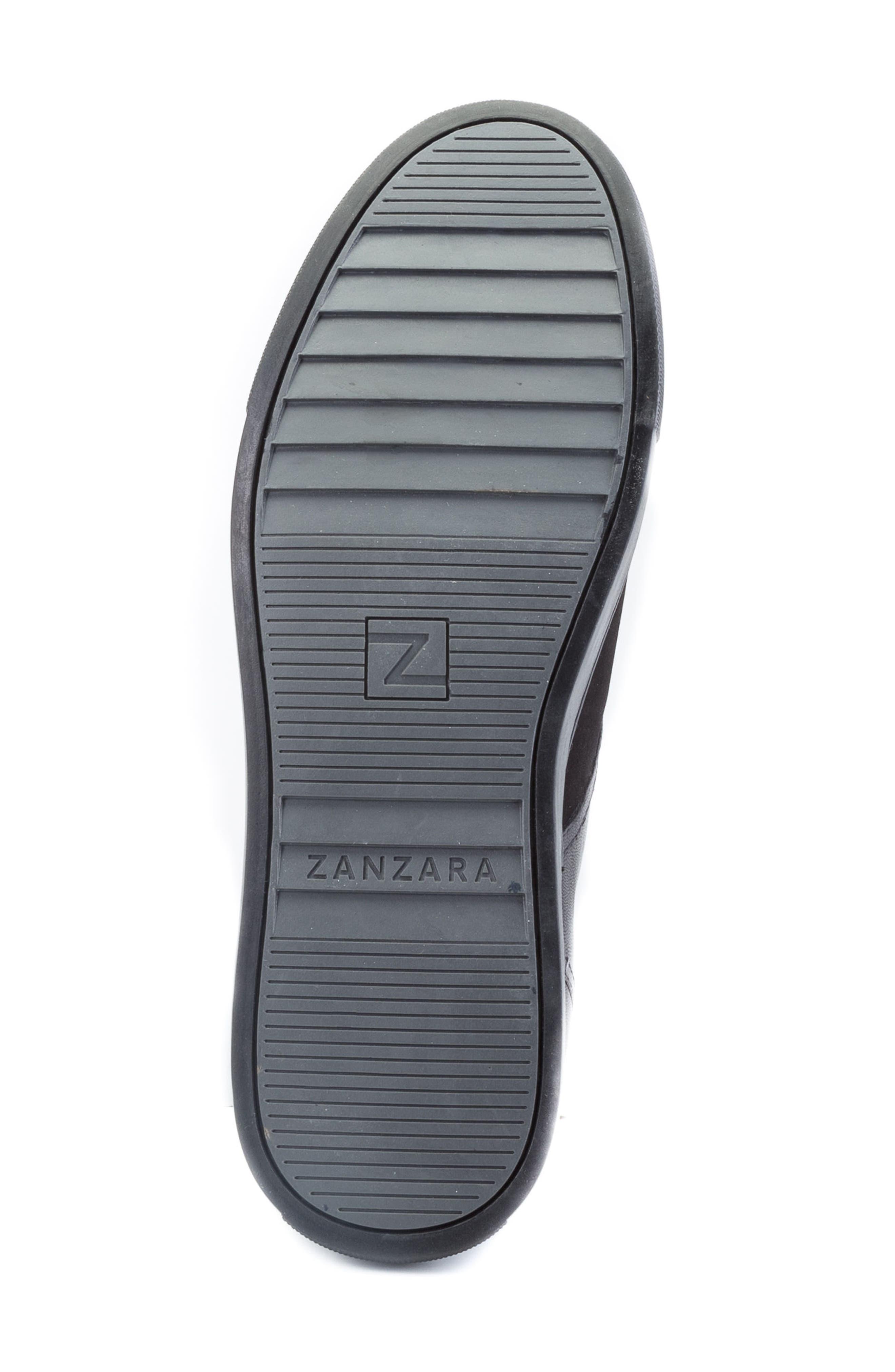 Catlett Chukka Sneaker,                             Alternate thumbnail 5, color,                             Black Suede/ Leather