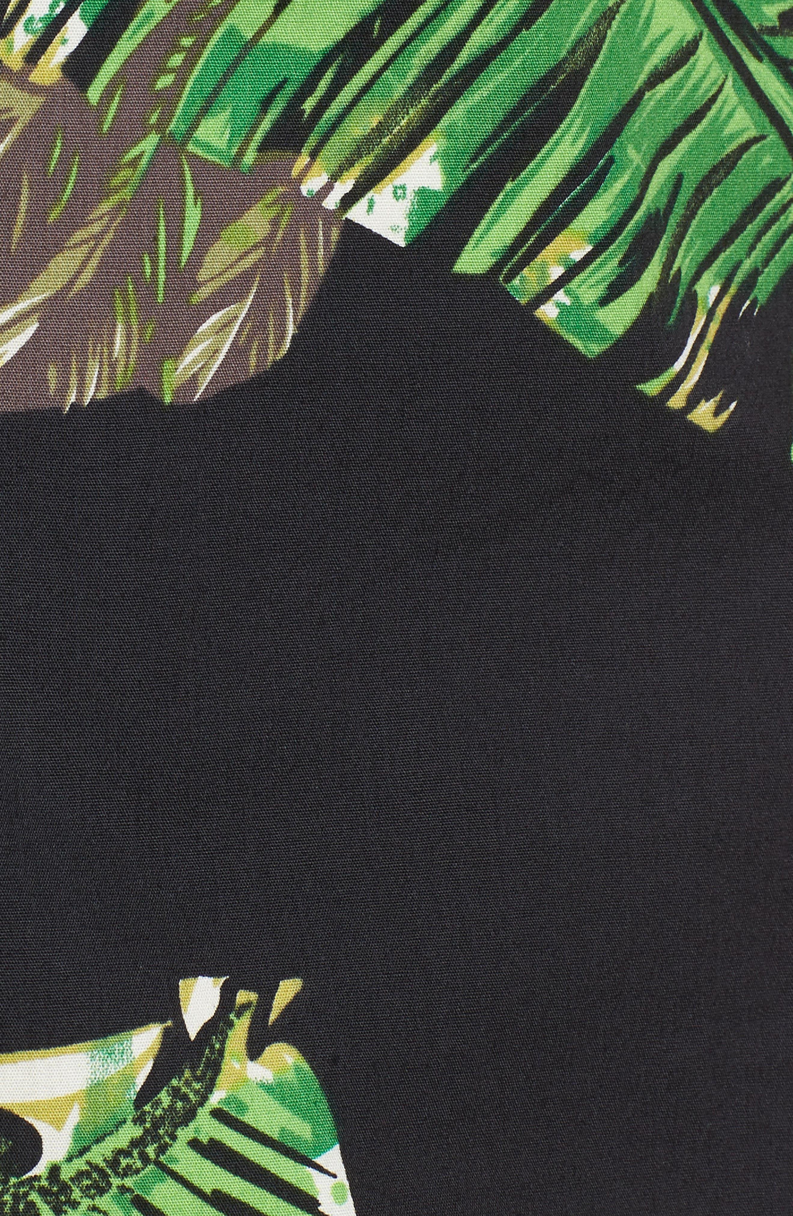 Toucan Shirt,                             Alternate thumbnail 5, color,                             Black