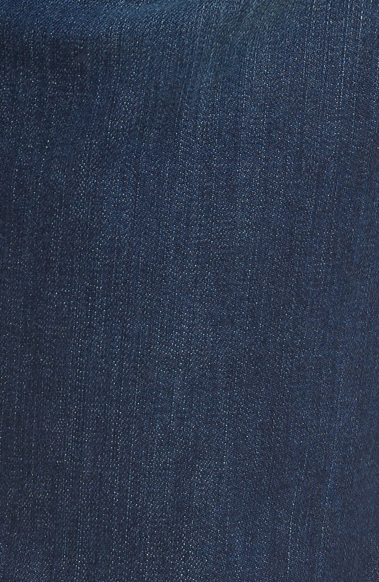 Lennox Slim Fit Jeans,                             Alternate thumbnail 5, color,                             Harlan Destructed