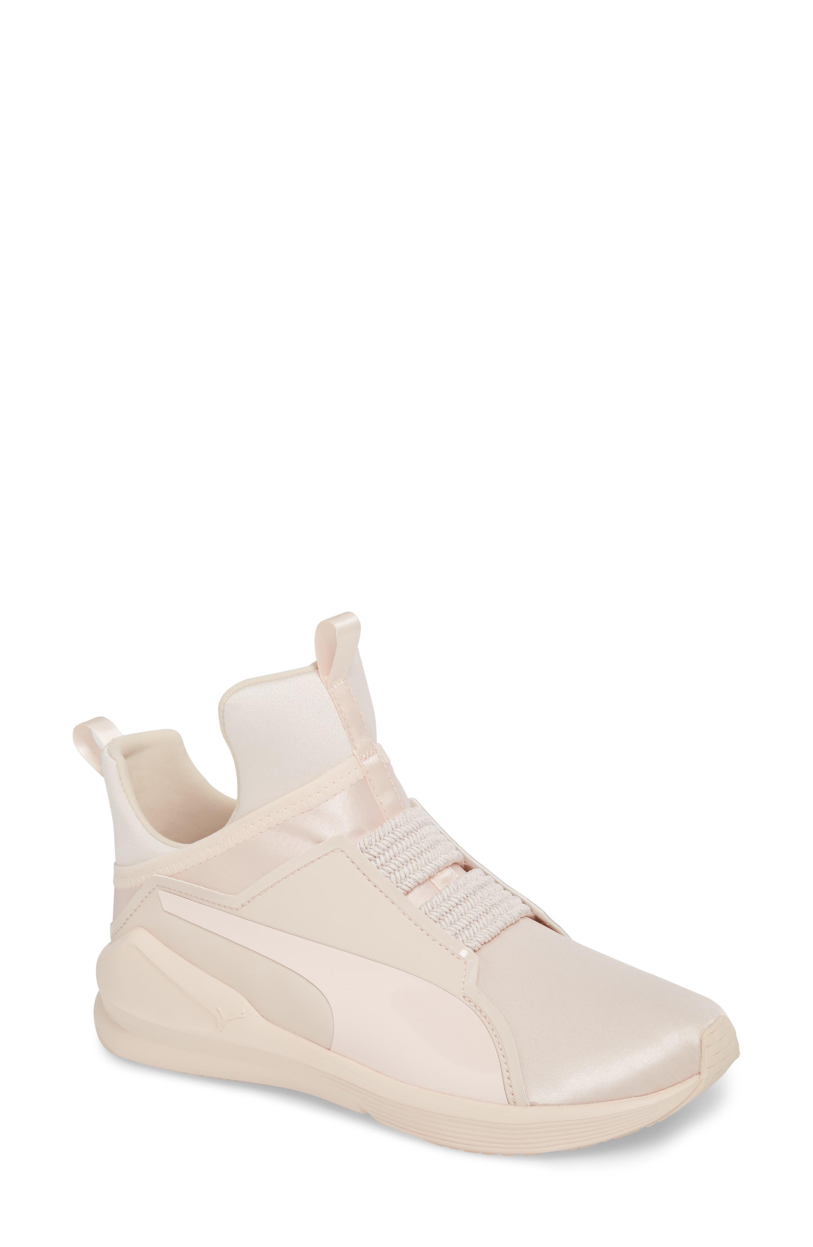 Fierce Satin EP Training Shoe,                         Main,                         color, Pearl