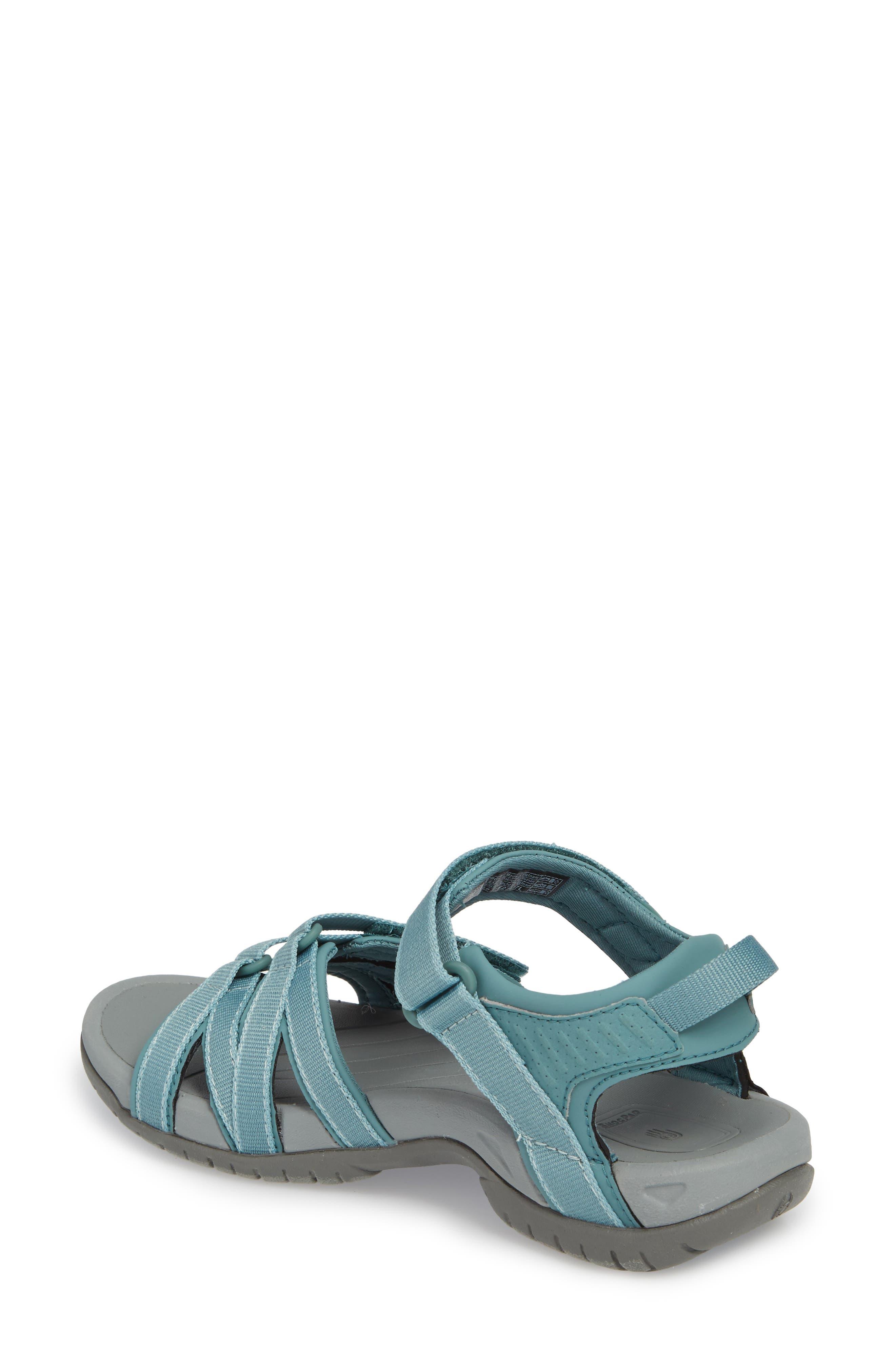 'Tirra' Sandal,                             Alternate thumbnail 2, color,                             North Atlantic