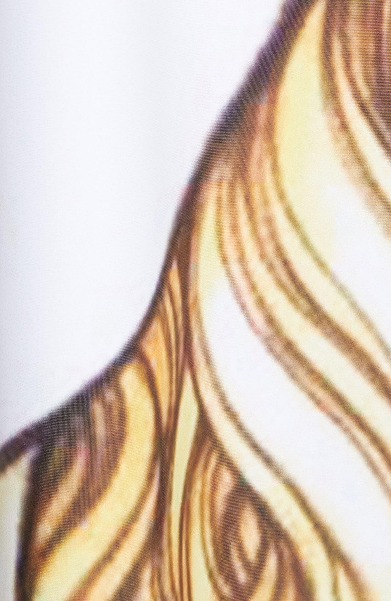 Manga Print Sleeveless Dress,                             Alternate thumbnail 6, color,                             J Pattern