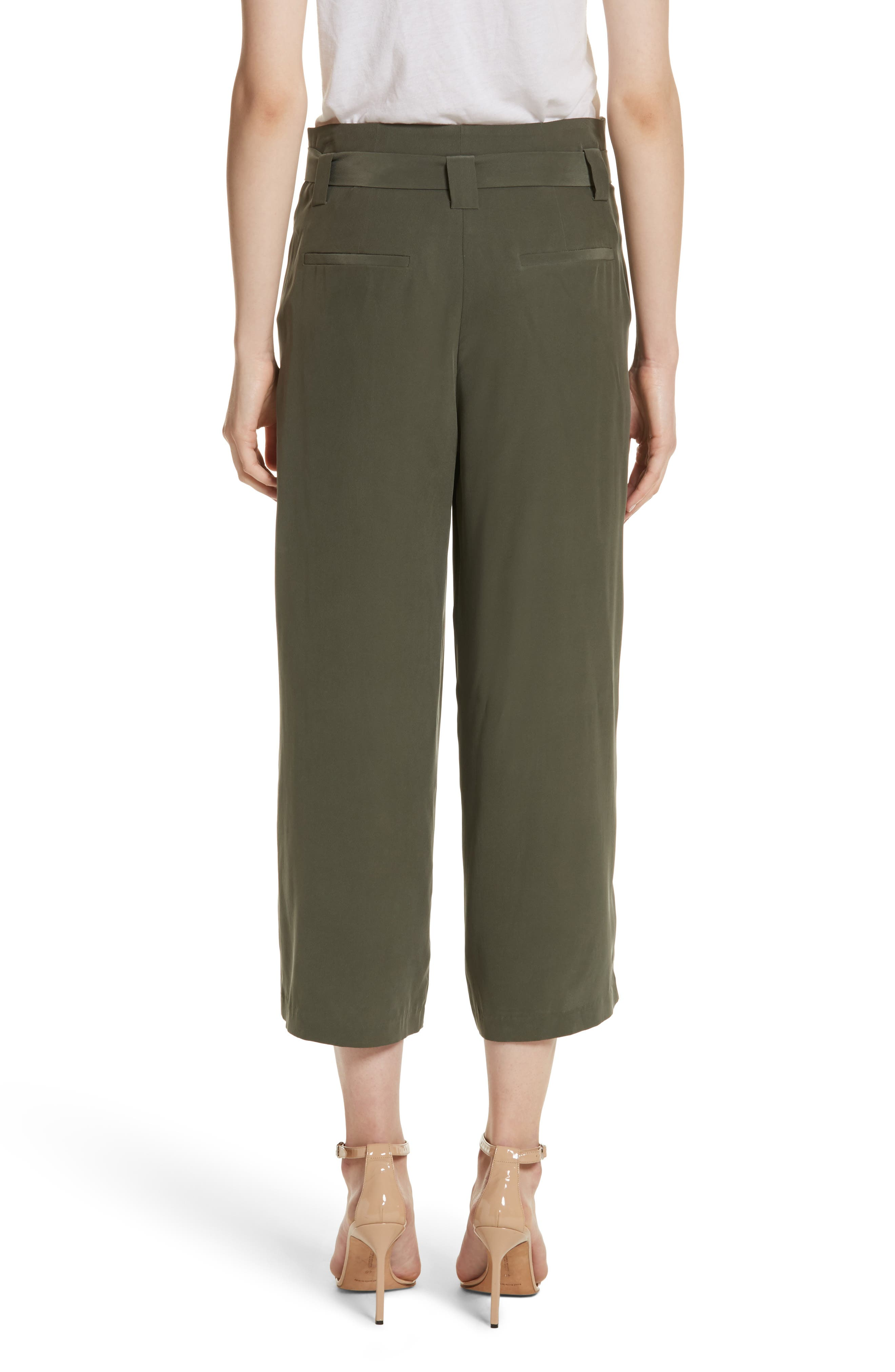 Alternate Image 2  - L'AGENCE Samira Paperbag Wide Leg Pants