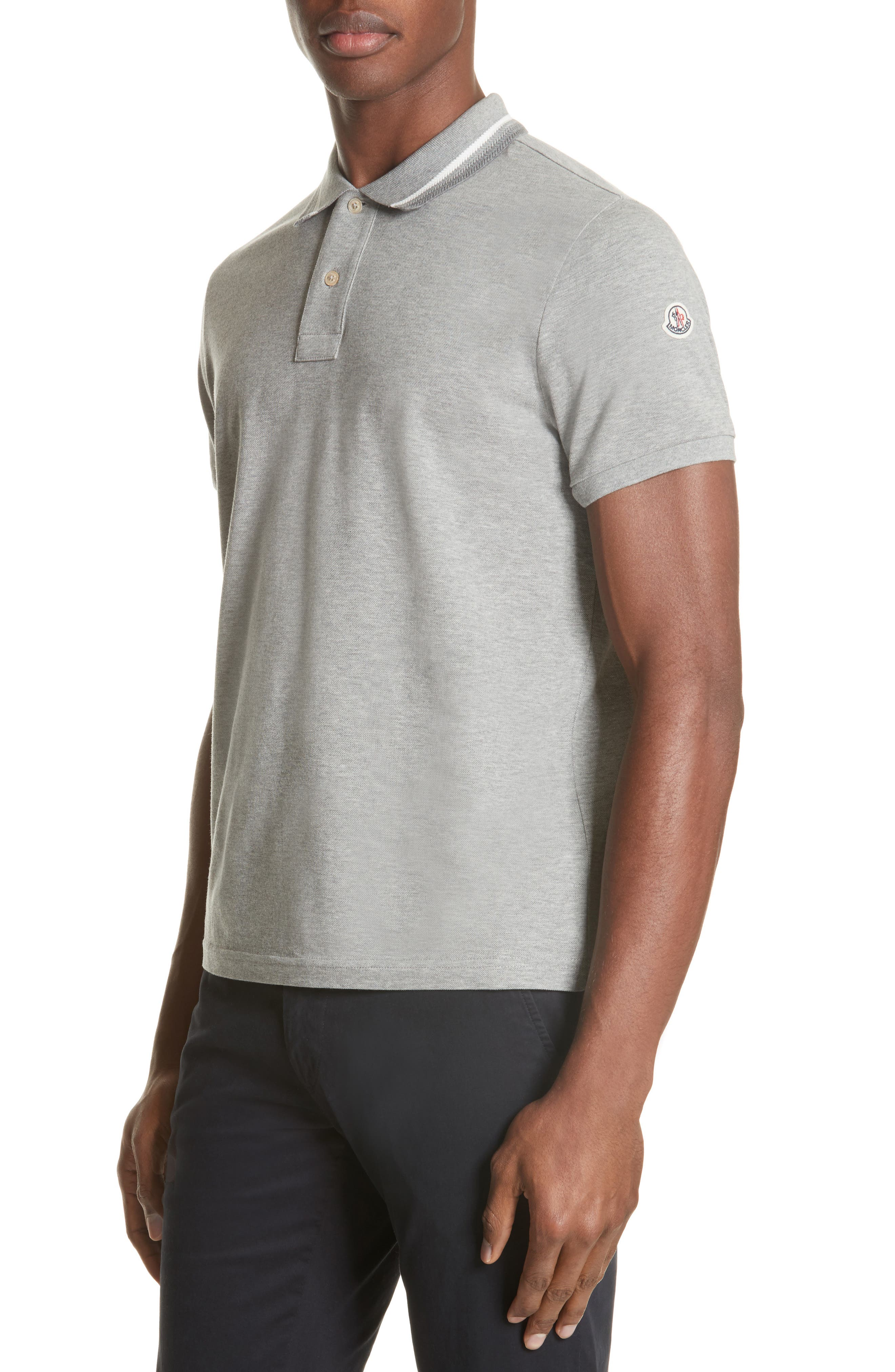 Moncler Tipped Jersey Polo