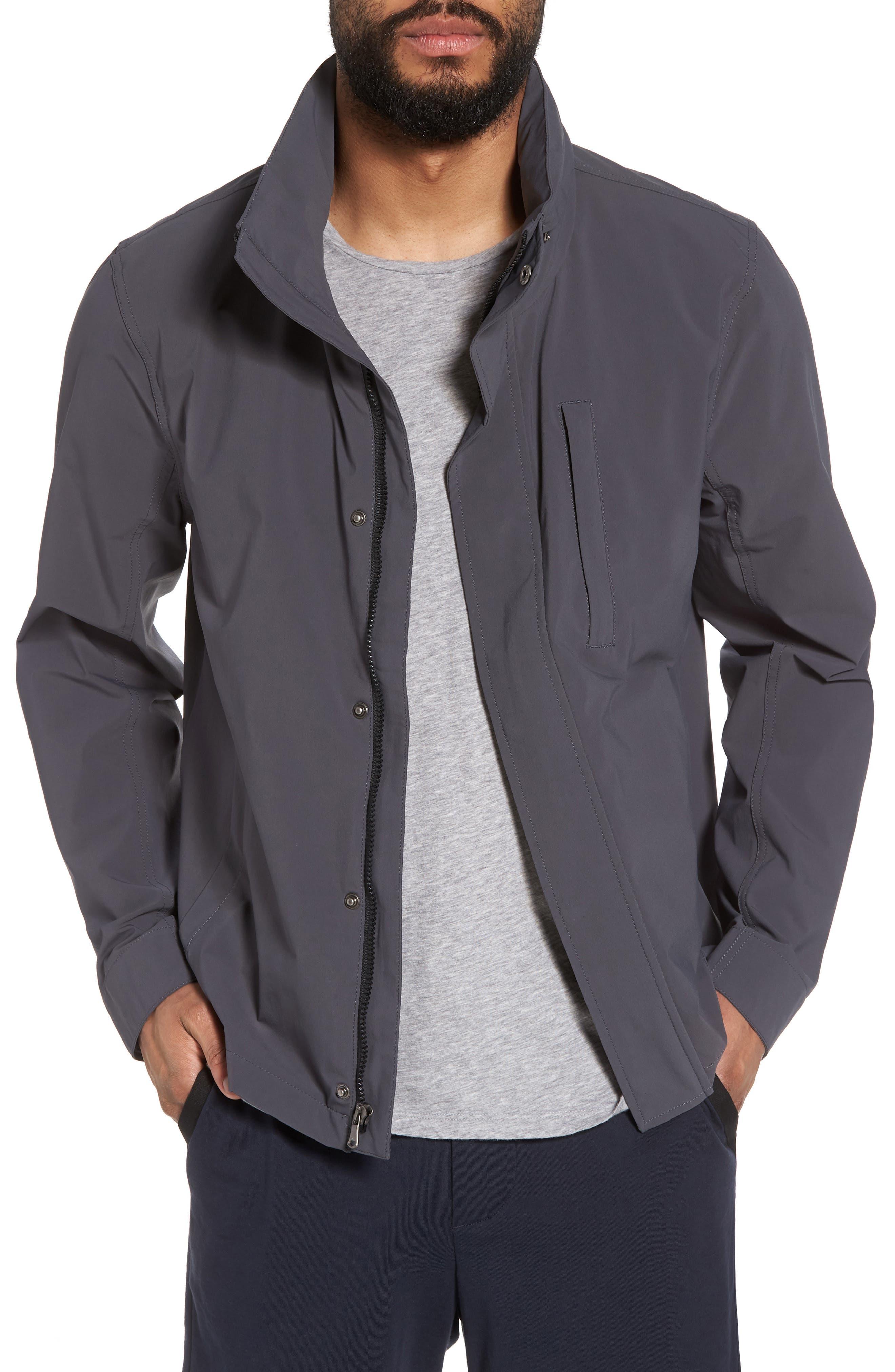 Performance Utility Jacket,                         Main,                         color, Slate