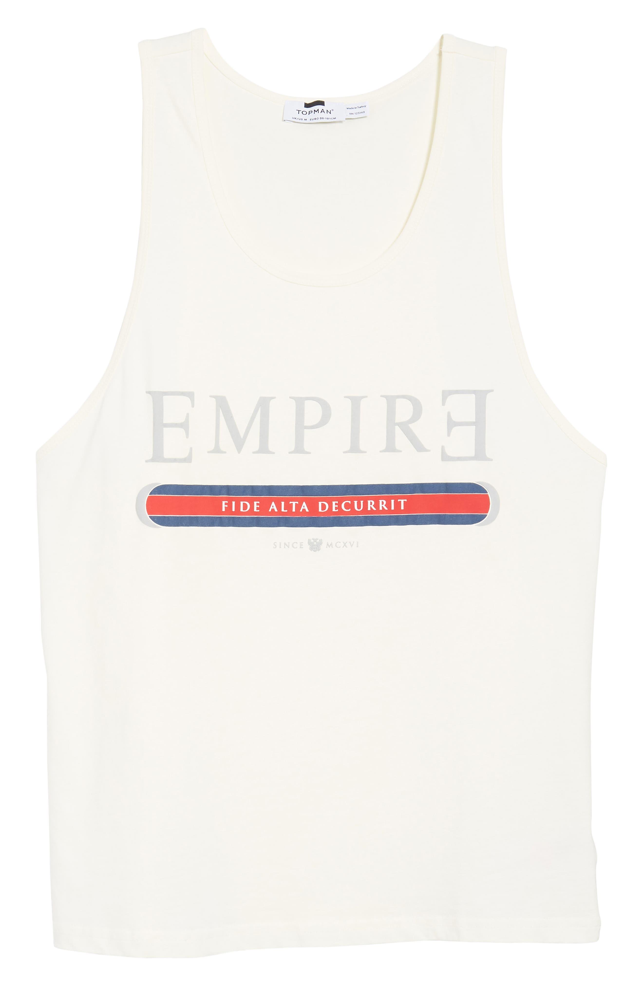 Alternate Image 6  - Topman Empire Fide Alta Decurrit Graphic Tank