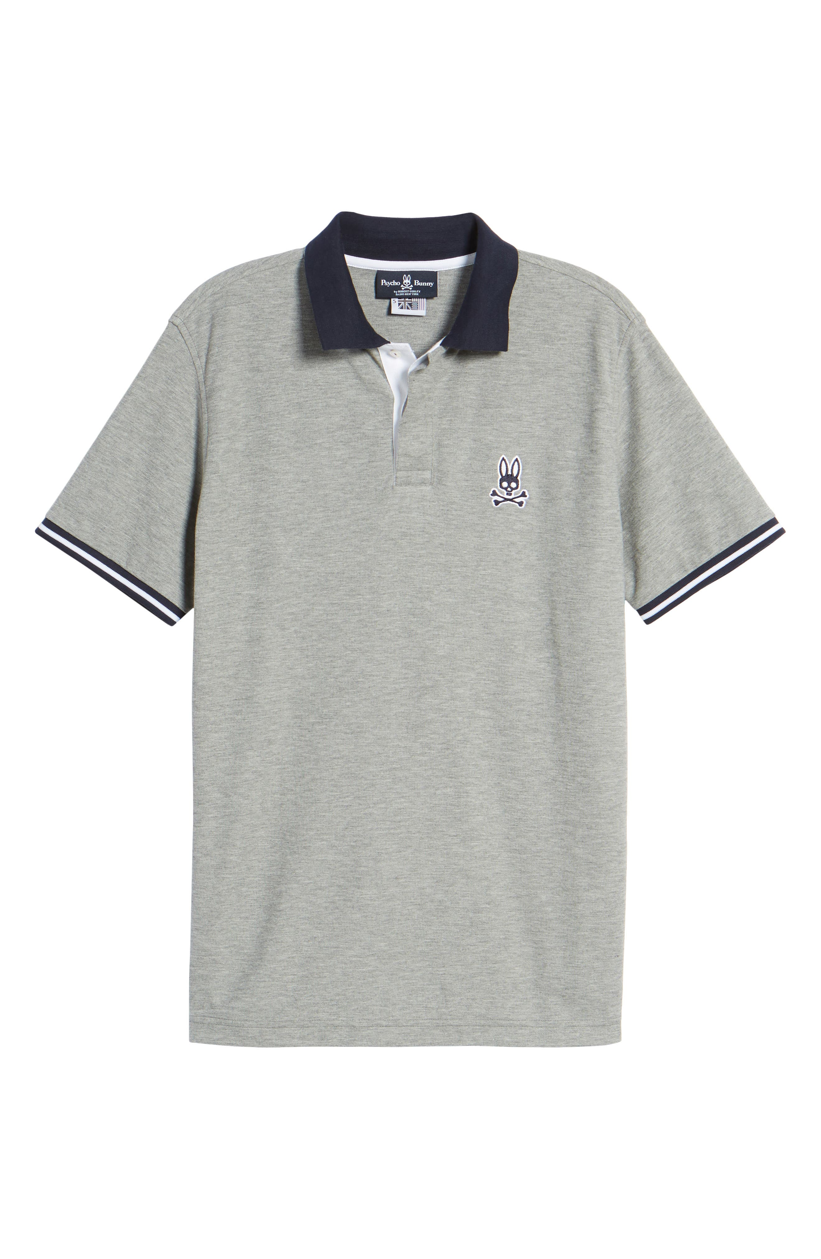St. Ives Polo,                             Alternate thumbnail 6, color,                             Heather Grey