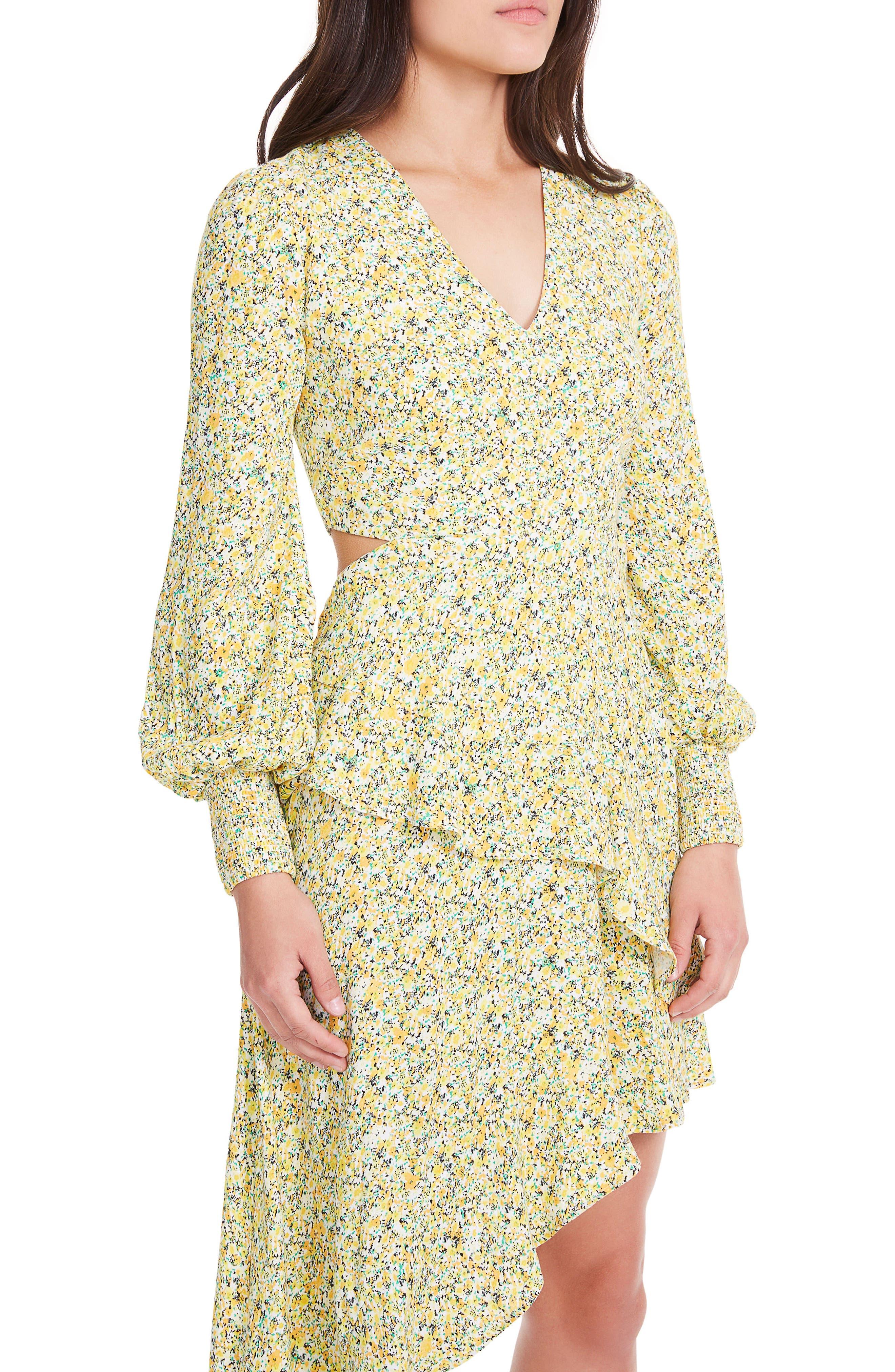 Alternate Image 6  - AFRM Hazel Smocked Midi Dress