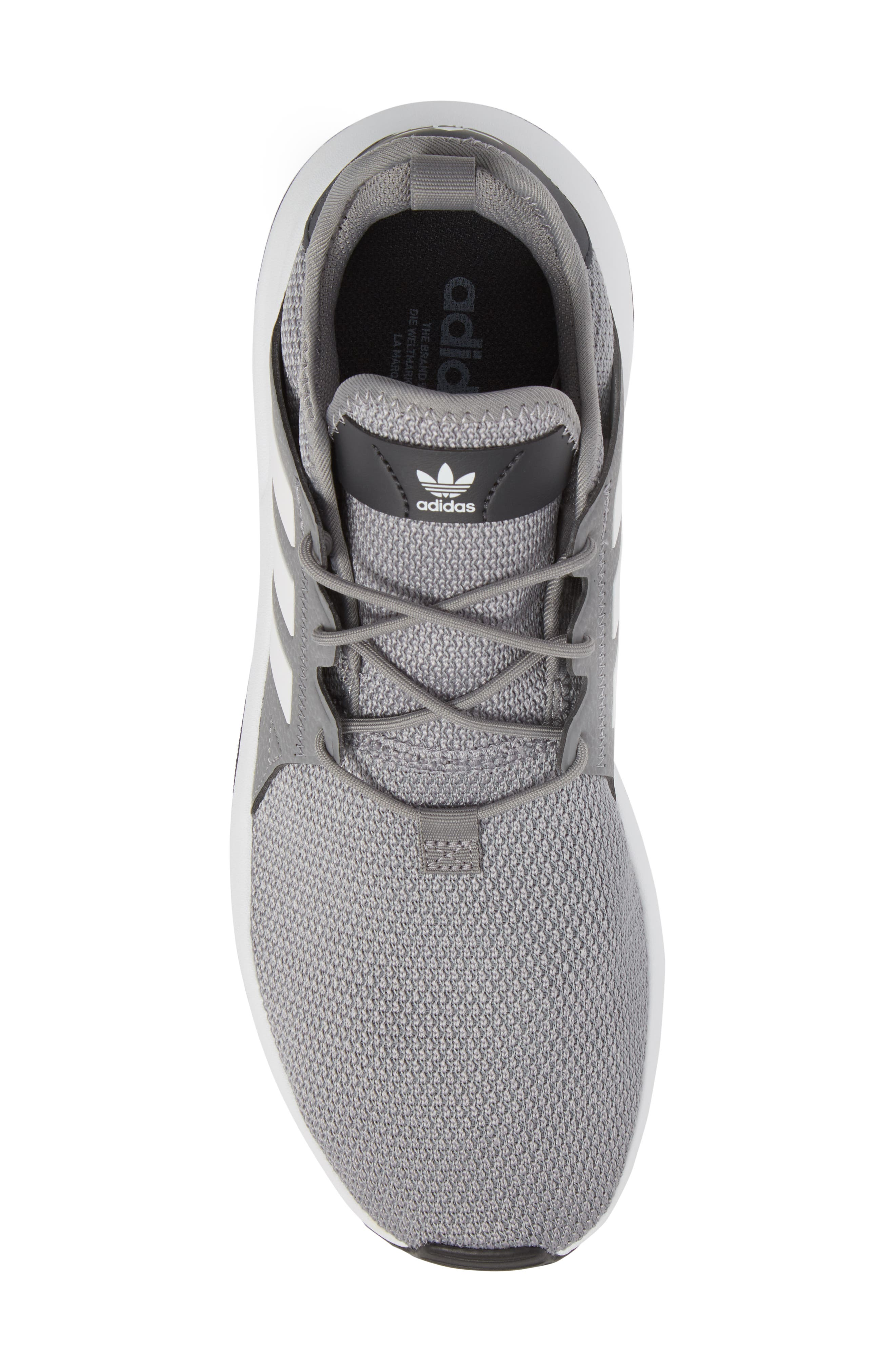 X_PLR Sneaker,                             Alternate thumbnail 5, color,                             Grey/ White/ Carbon