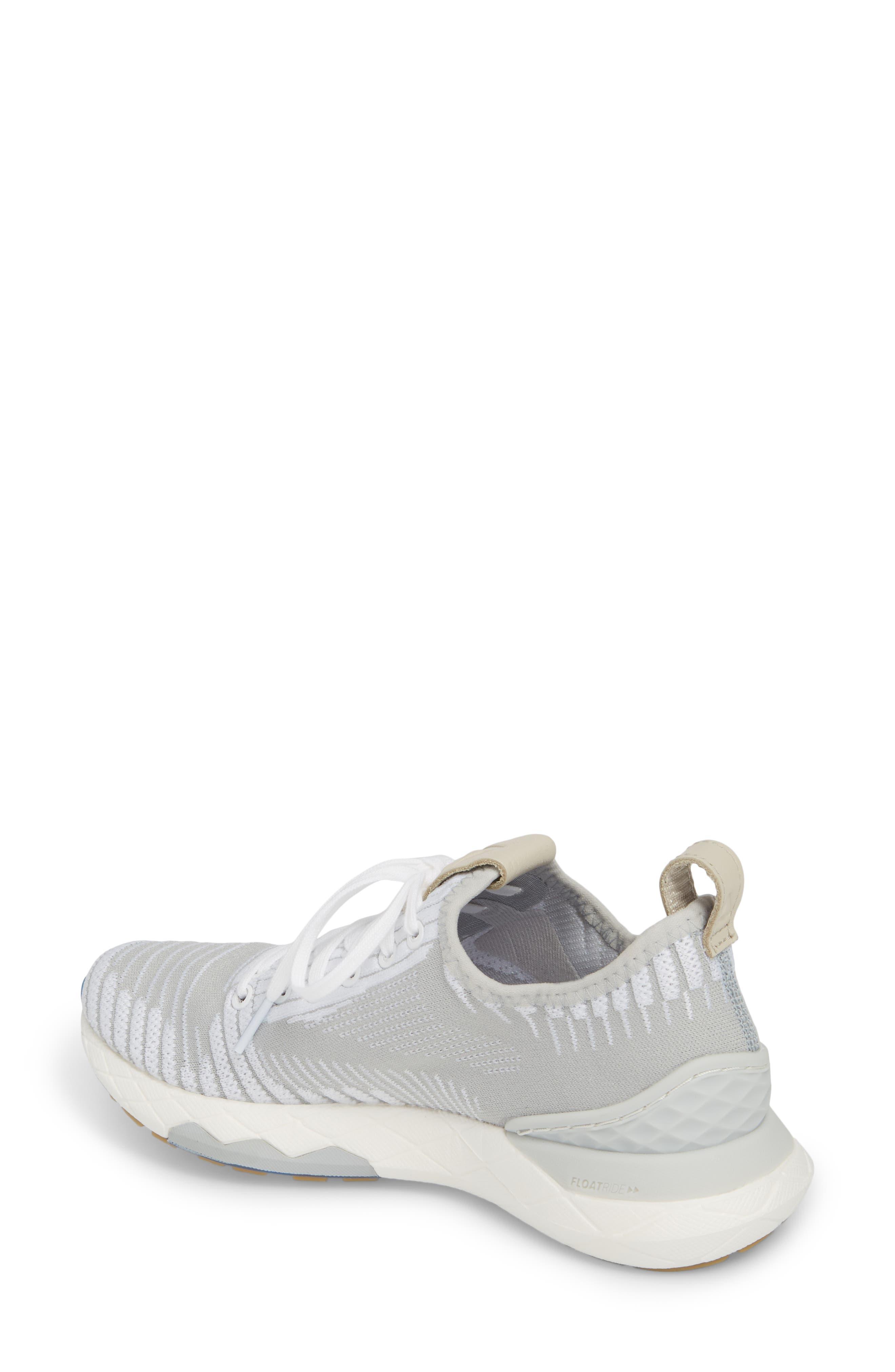 Floatride 6000 Running Shoe,                             Alternate thumbnail 2, color,                             White/ Skull Grey
