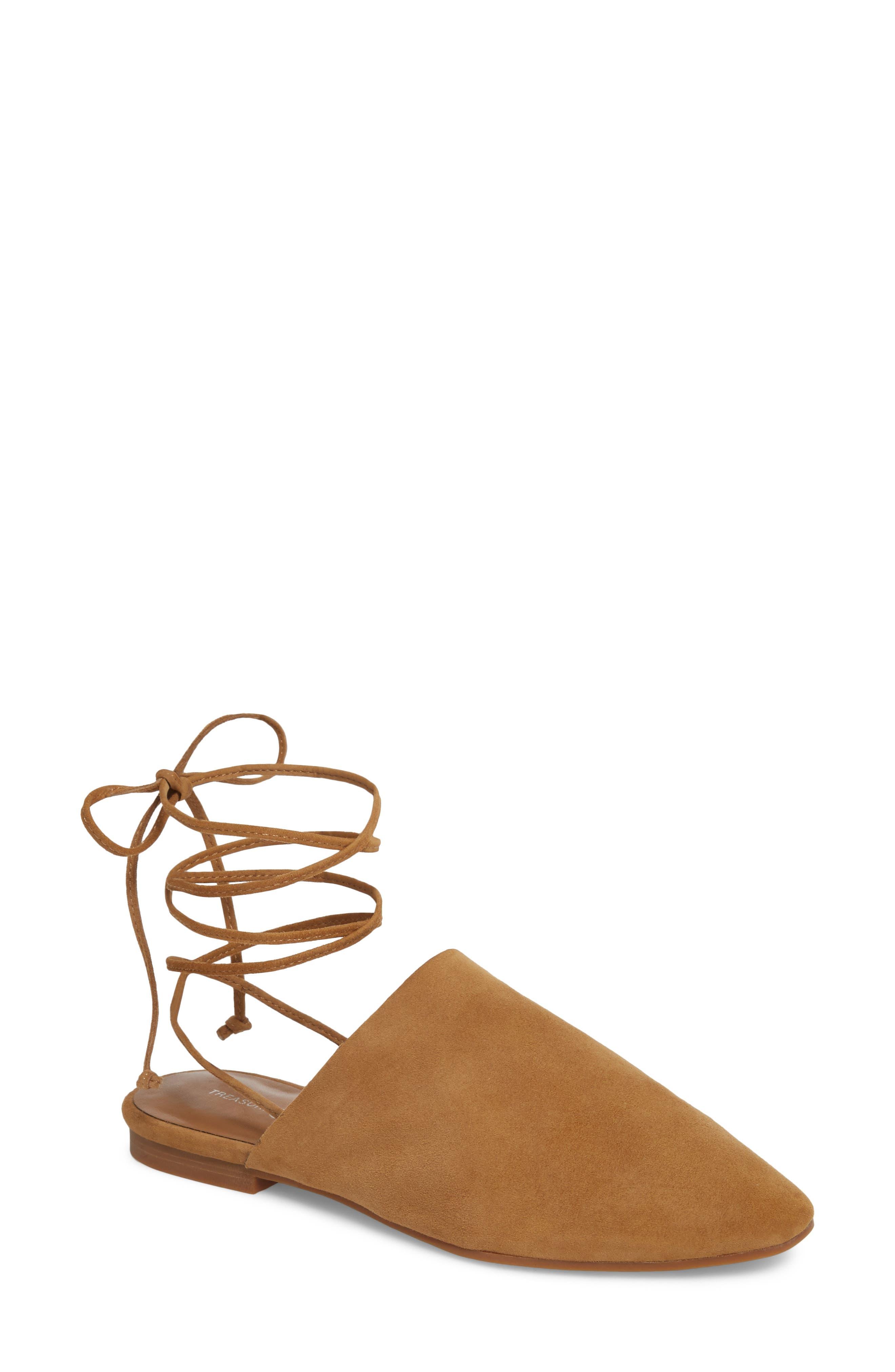 Treasure & Bond Deven Ankle Wrap Mule (Women)