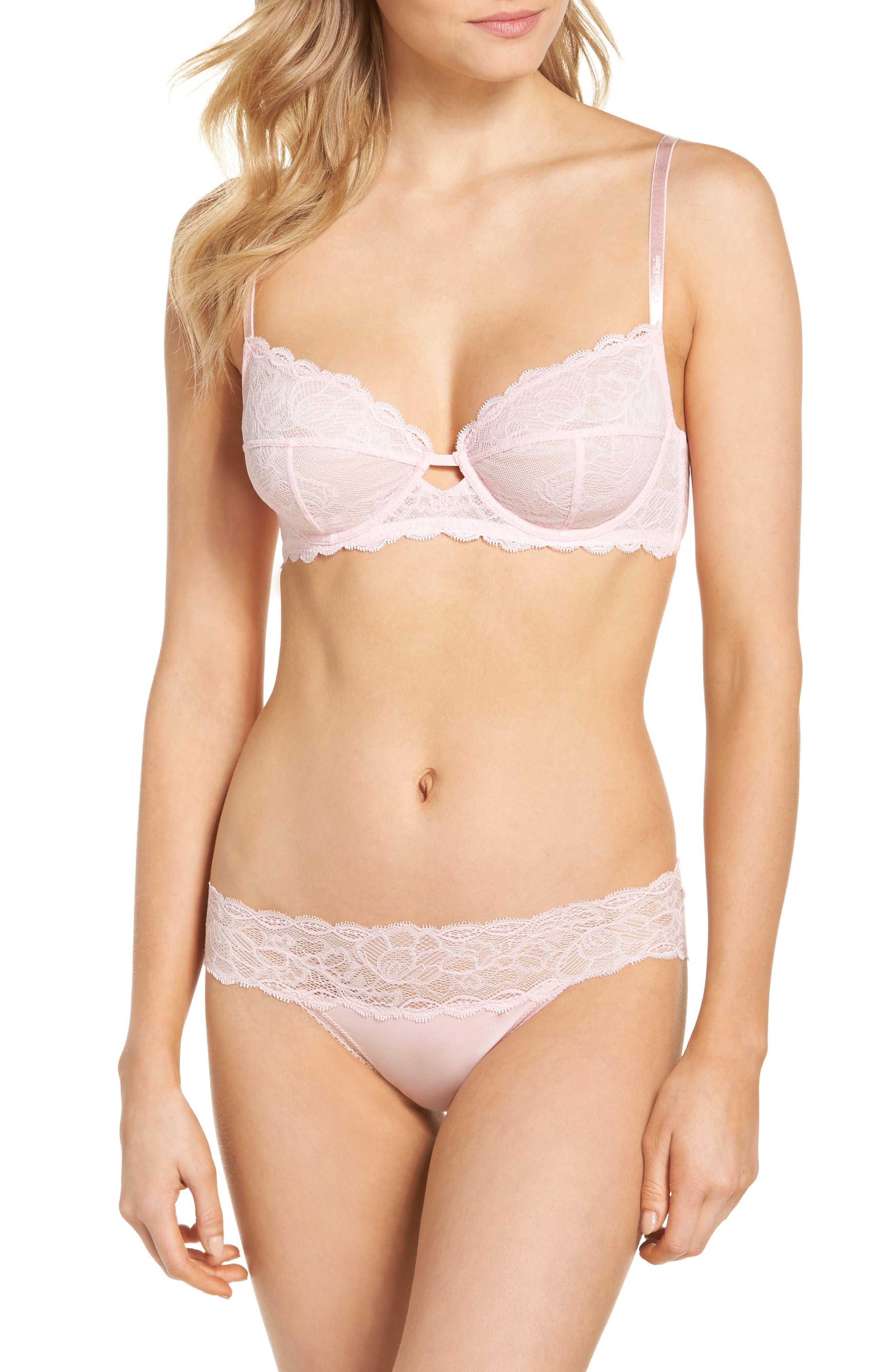 Seductive Comfort Lace Bikini,                             Alternate thumbnail 7, color,                             Attract