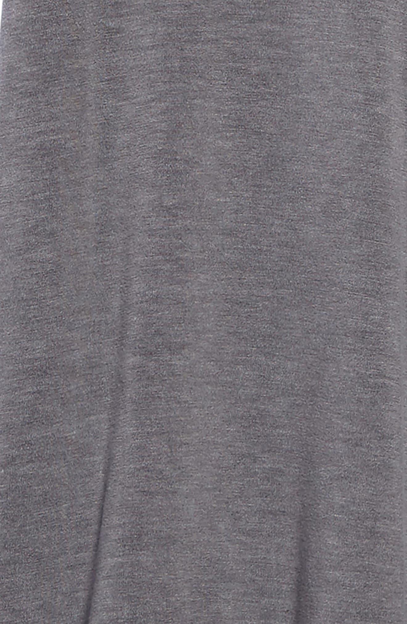Cold Shoulder Jersey Dress,                             Alternate thumbnail 3, color,                             Grey Castlerock