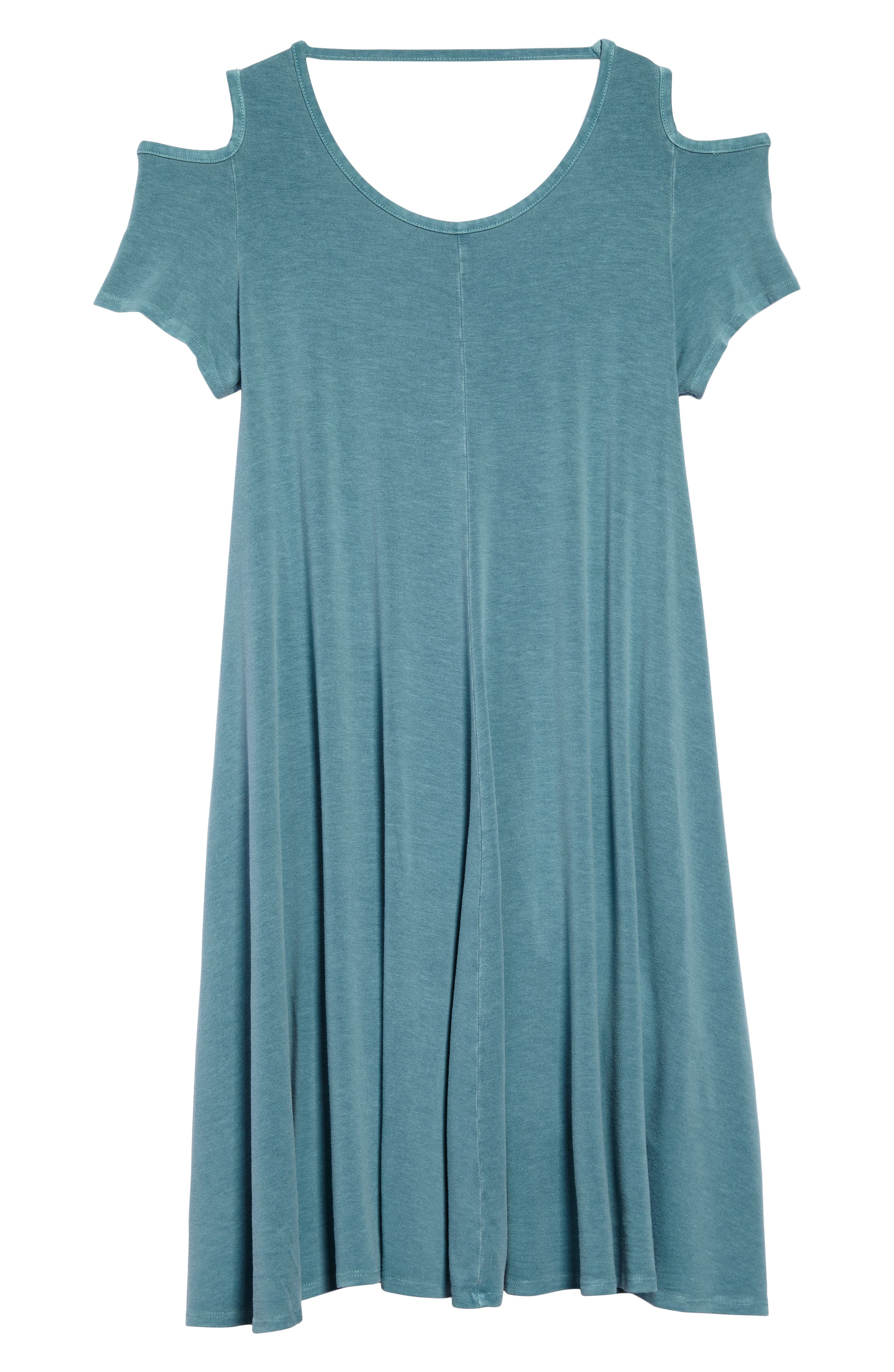 Tucker + Tate Cold Shoulder Jersey Dress (Big Girls)