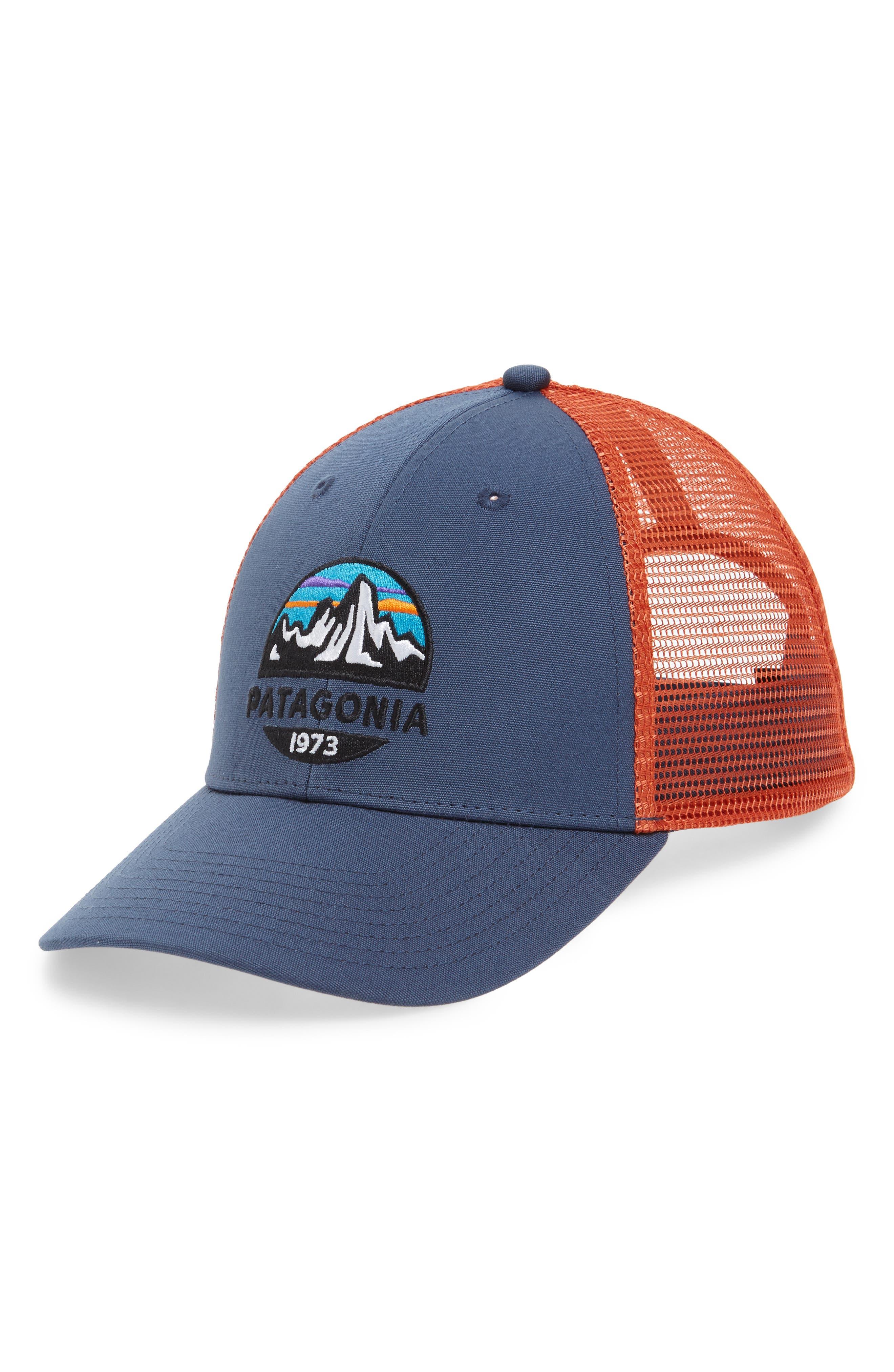 PATAGONIA Fitz Roy Scope Lopro Trucker Cap - Blue 3cc14d8241e