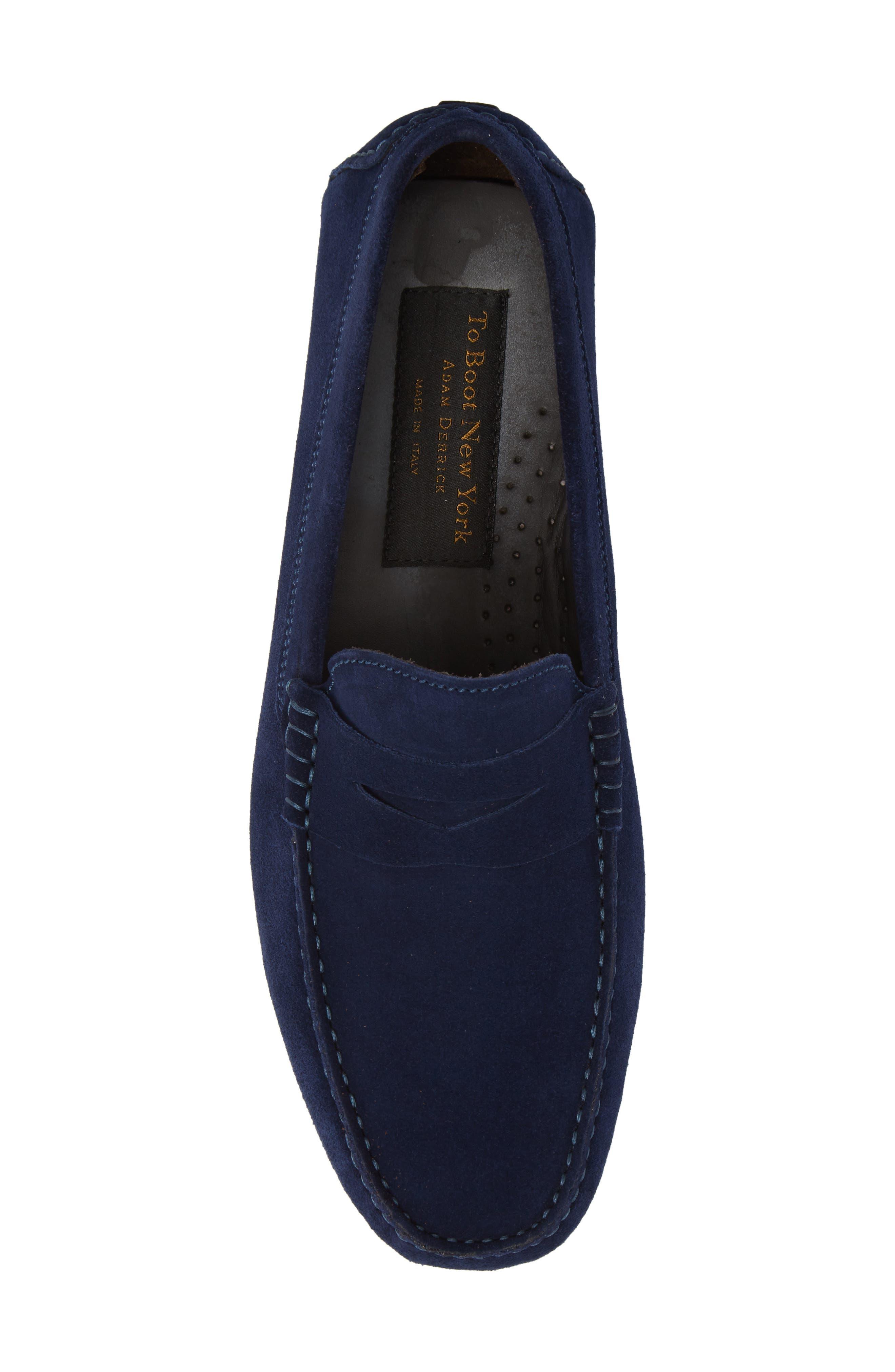 Alternate Image 5  - To Boot New York Mitchum Driving Shoe (Men)