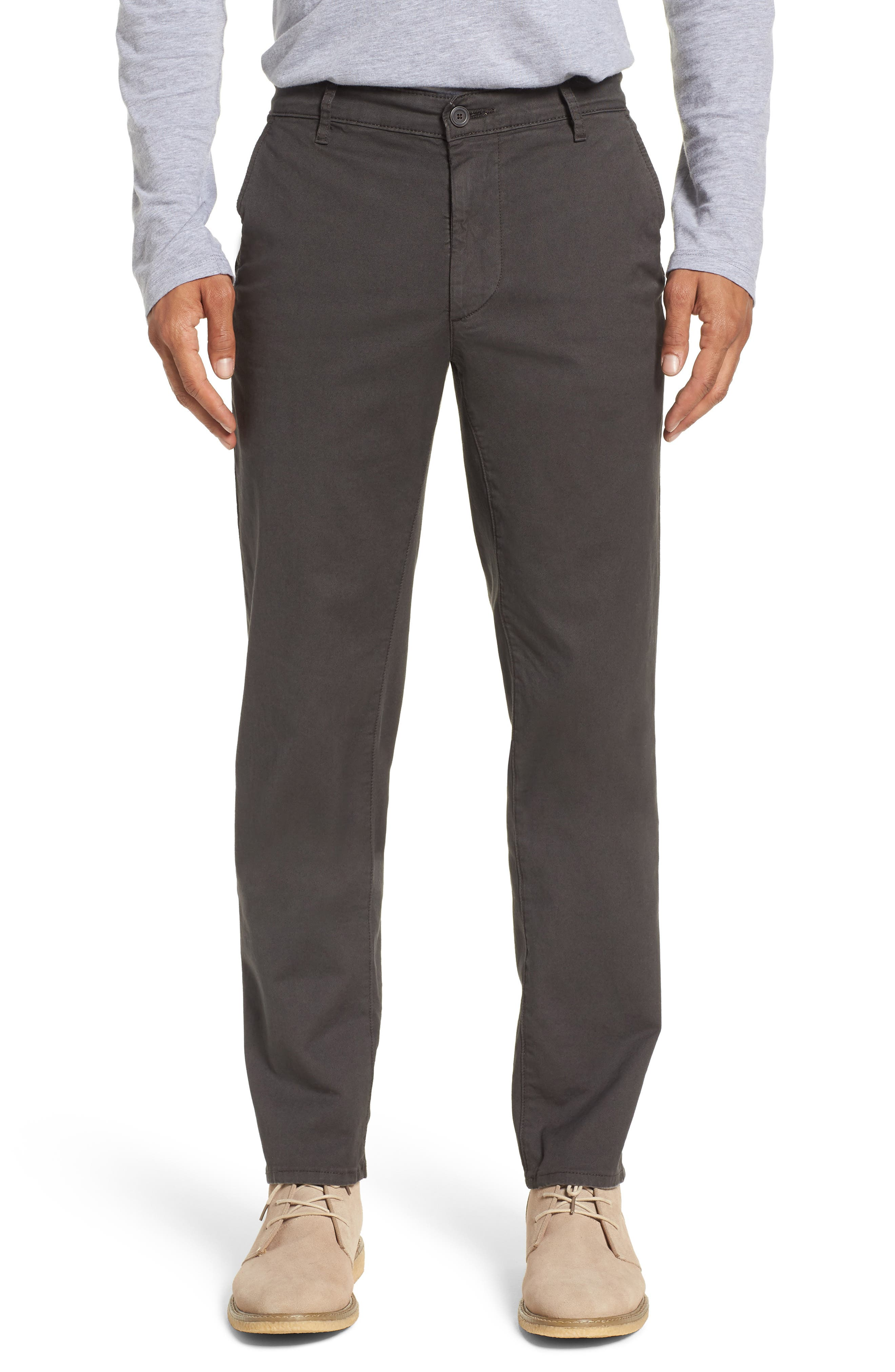 Alternate Image 1 Selected - AG Marshall Slim Straight Leg Chino Pants