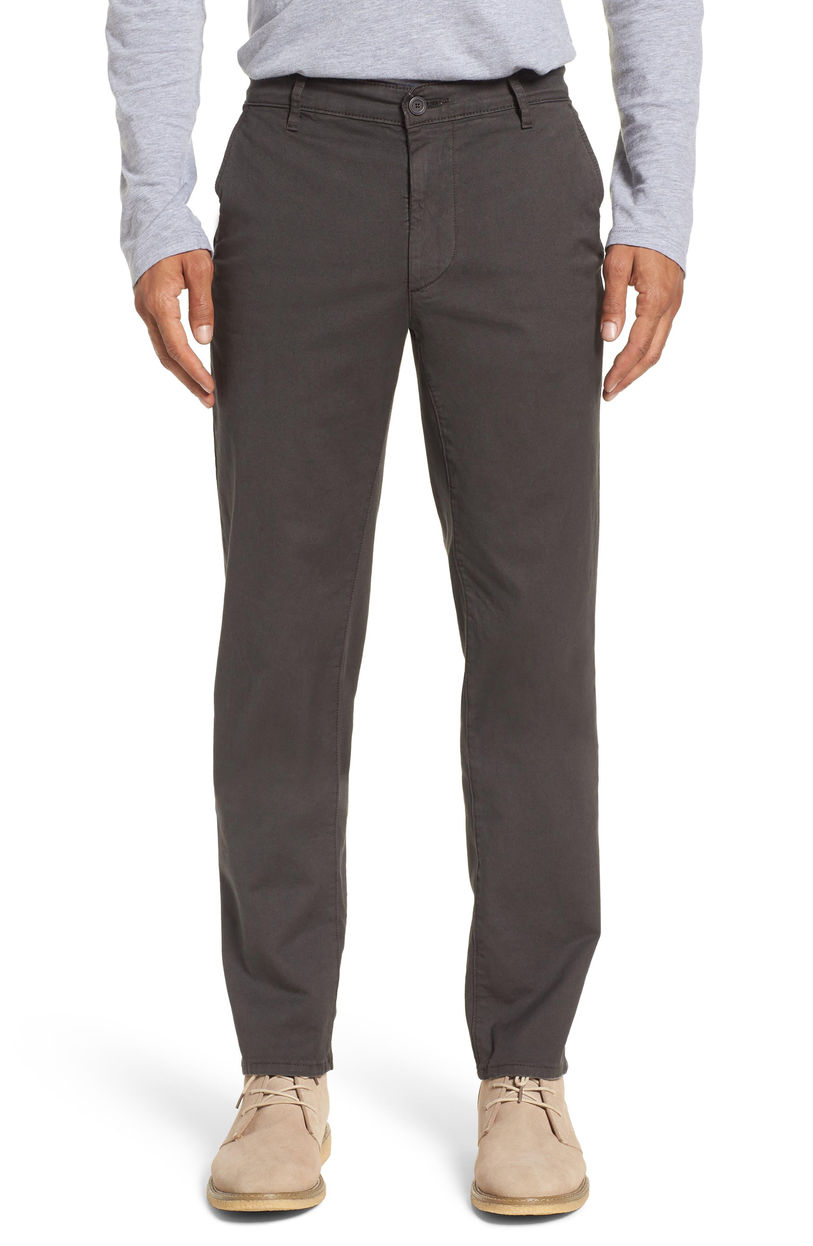 Marshall Slim Straight Leg Chino Pants,                         Main,                         color, Sulfur Smoke Grey