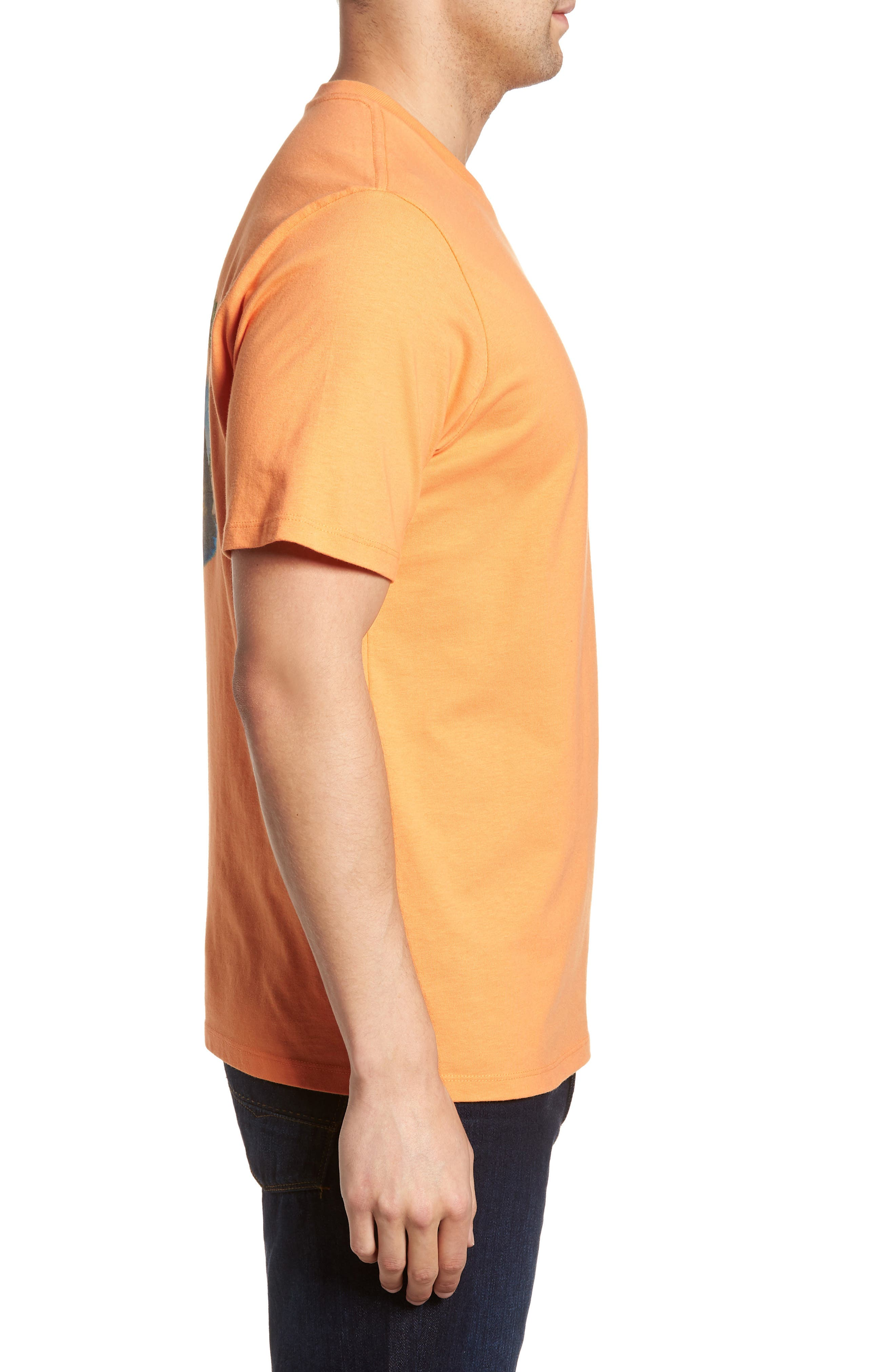 Ryes to the Occasion T-Shirt,                             Alternate thumbnail 3, color,                             Bright Apricot