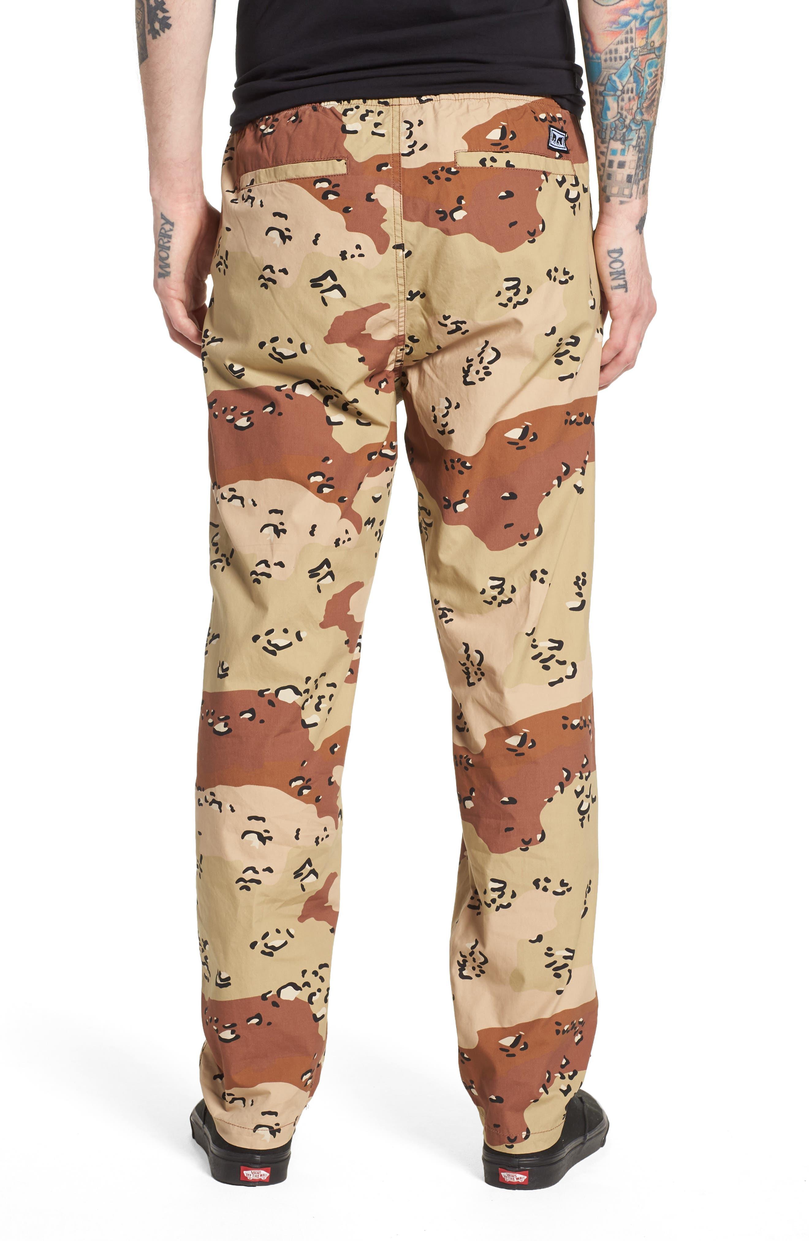 Easy Camo Pants,                             Alternate thumbnail 2, color,                             Choco Chip Camo