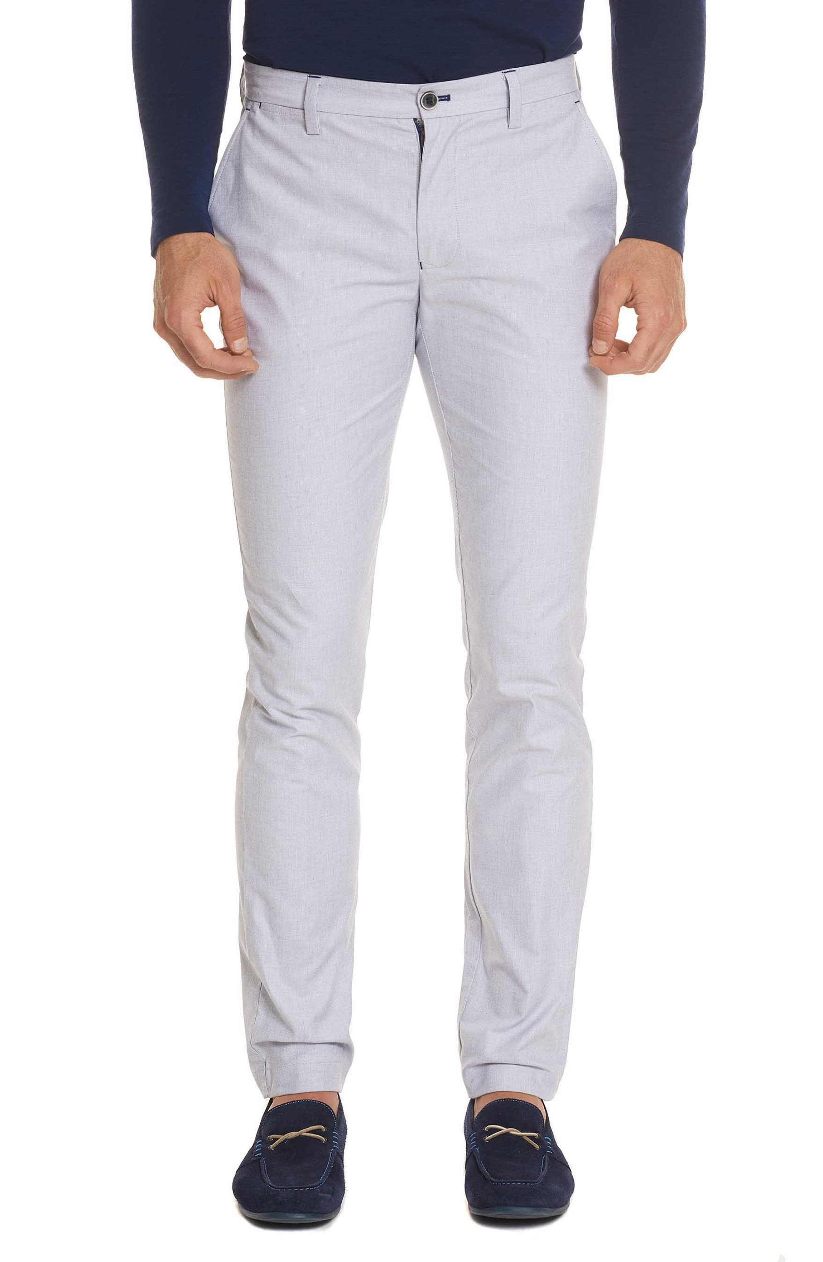 Gerardo Tailored Fit Pants,                             Main thumbnail 1, color,                             White