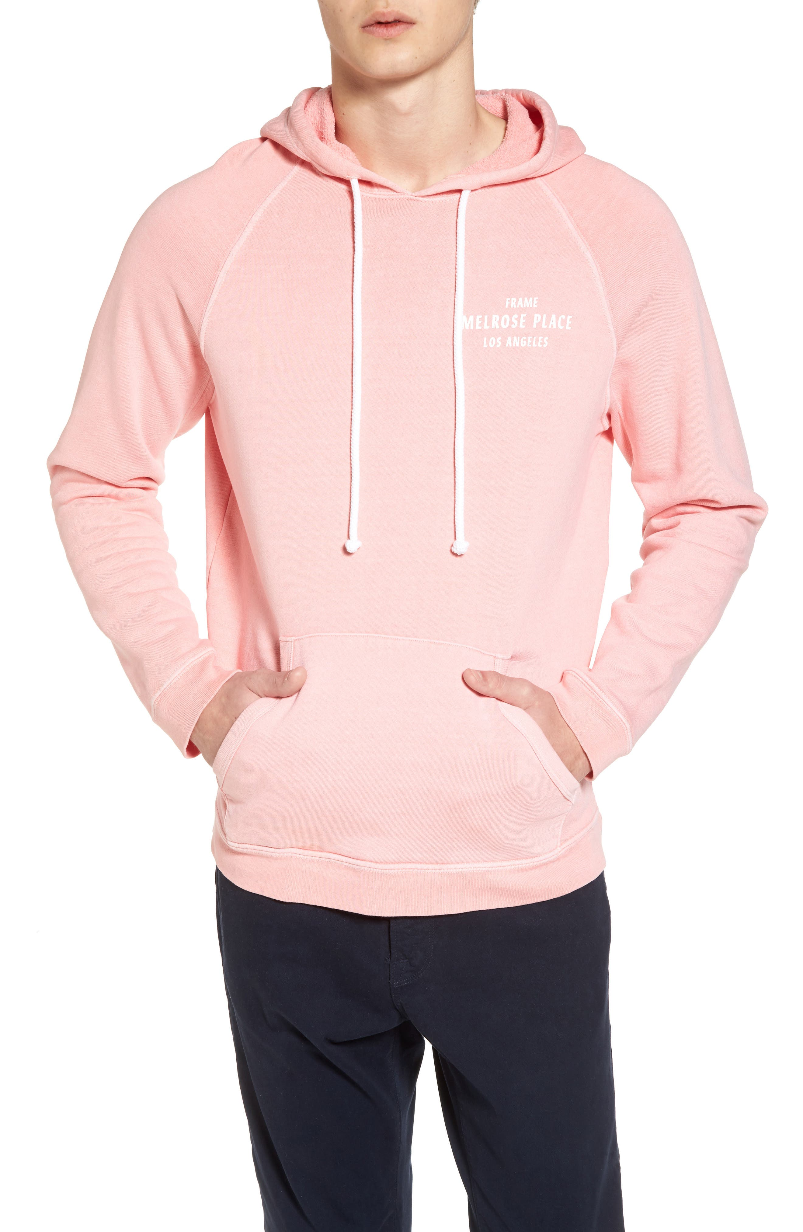 Vintage Pullover Hoodie,                         Main,                         color, Faded Light Pink