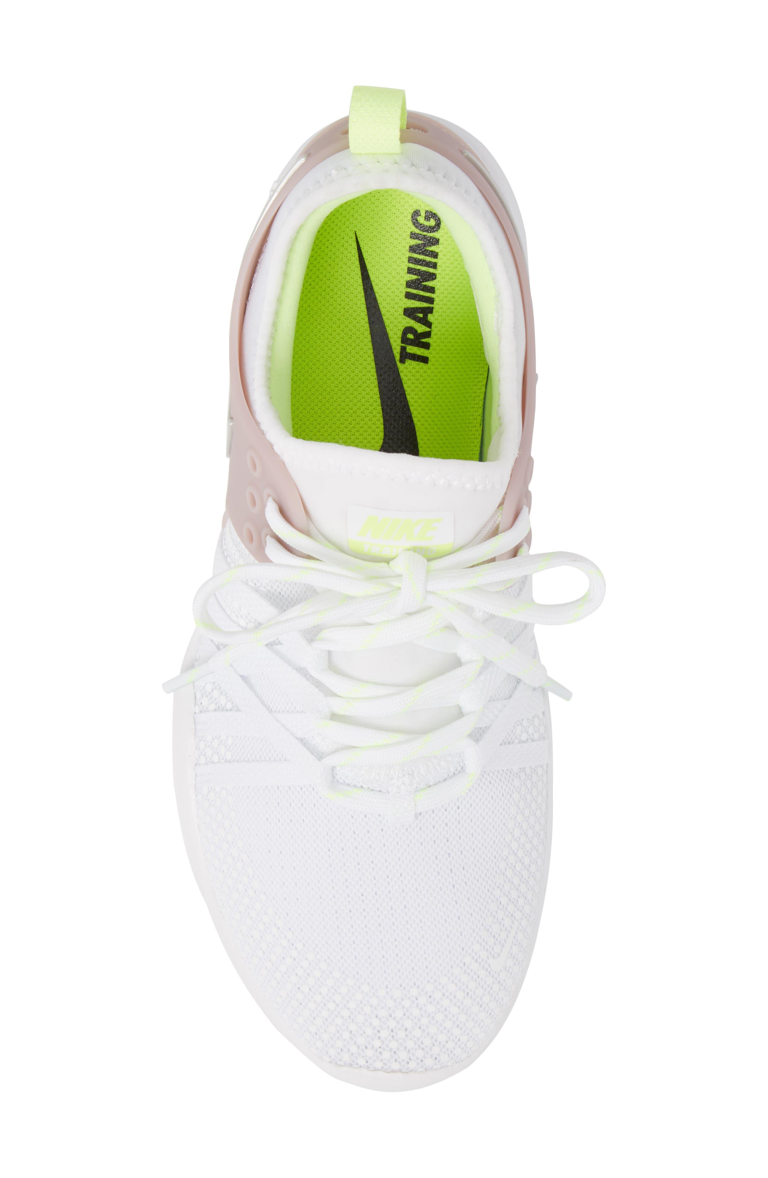 Free TR 7 Training Shoe,                             Alternate thumbnail 5, color,                             White/ Silver