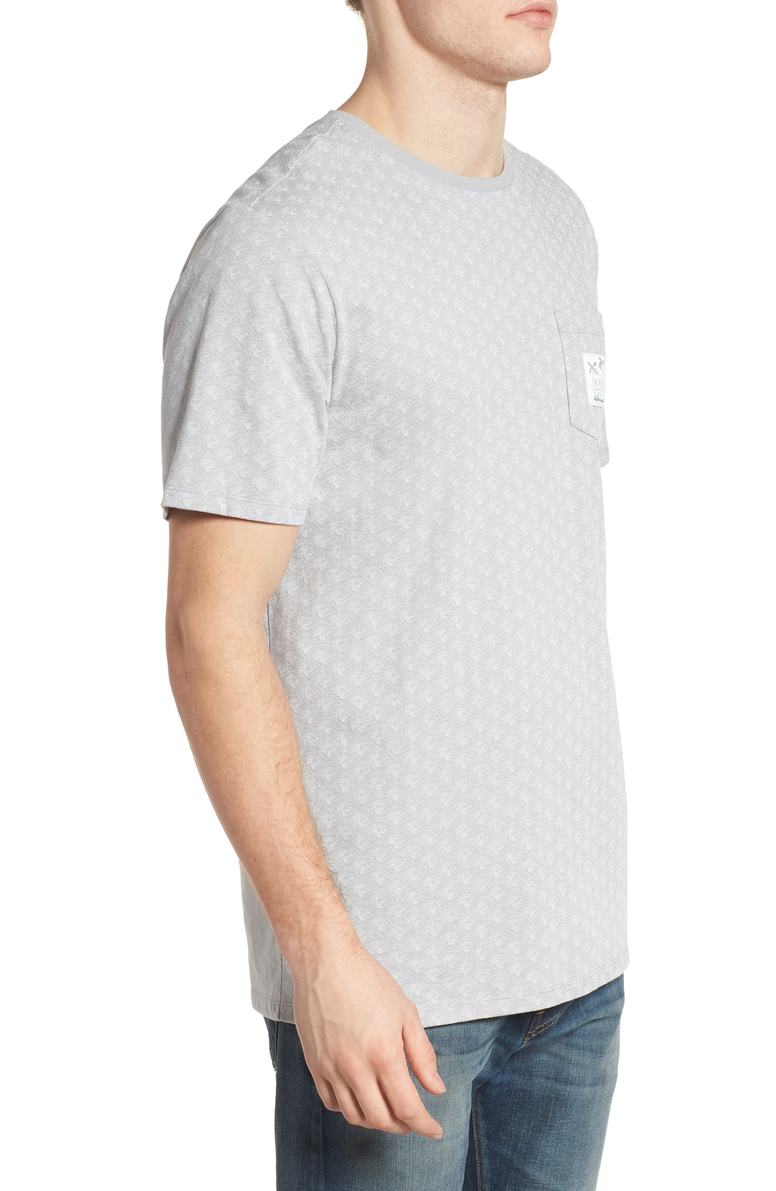 Pescado Short Sleeve T-Shirt,                             Alternate thumbnail 3, color,                             Sail
