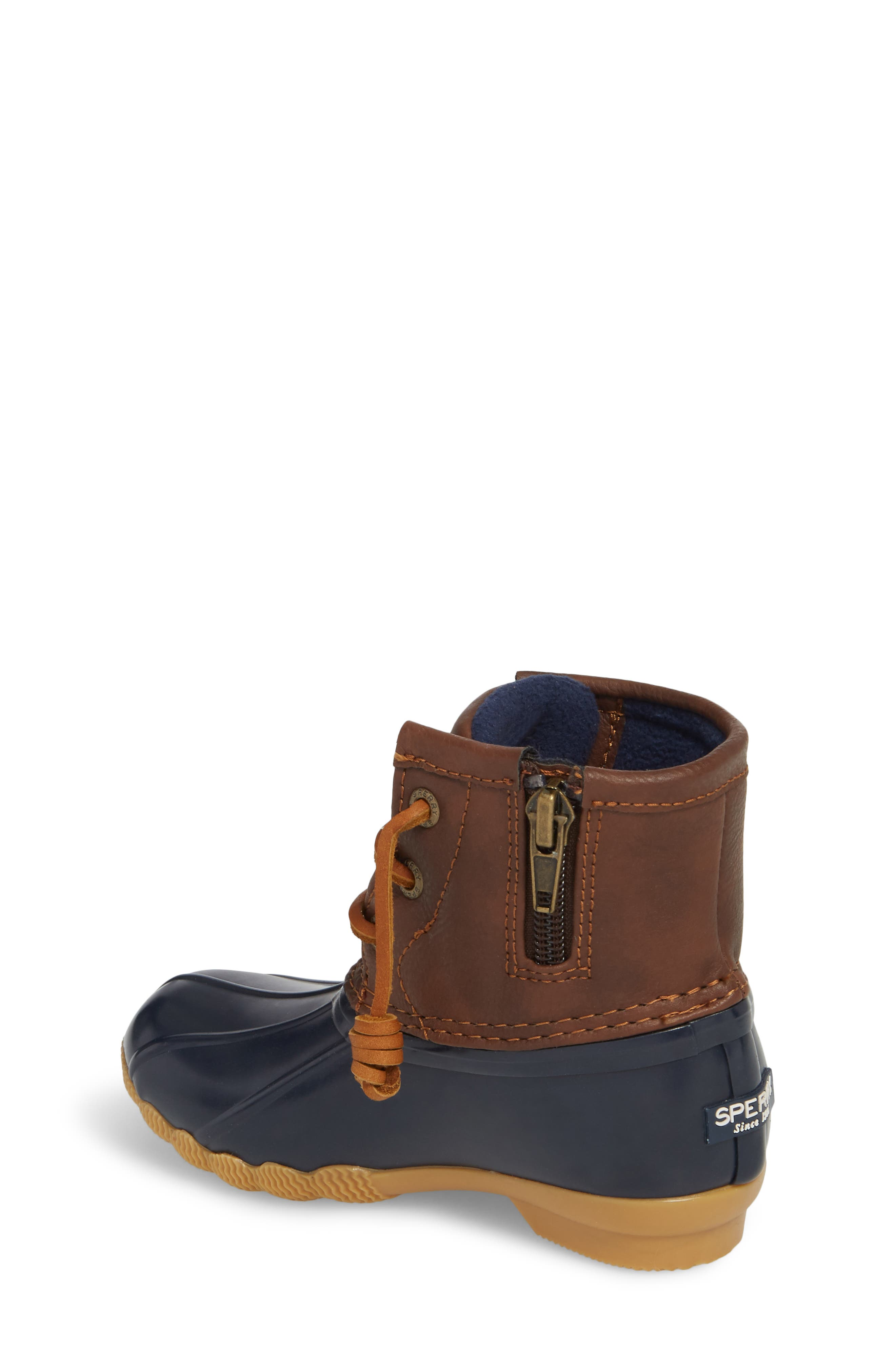 Saltwater Duck Boot,                             Alternate thumbnail 2, color,                             Navy/ Navy