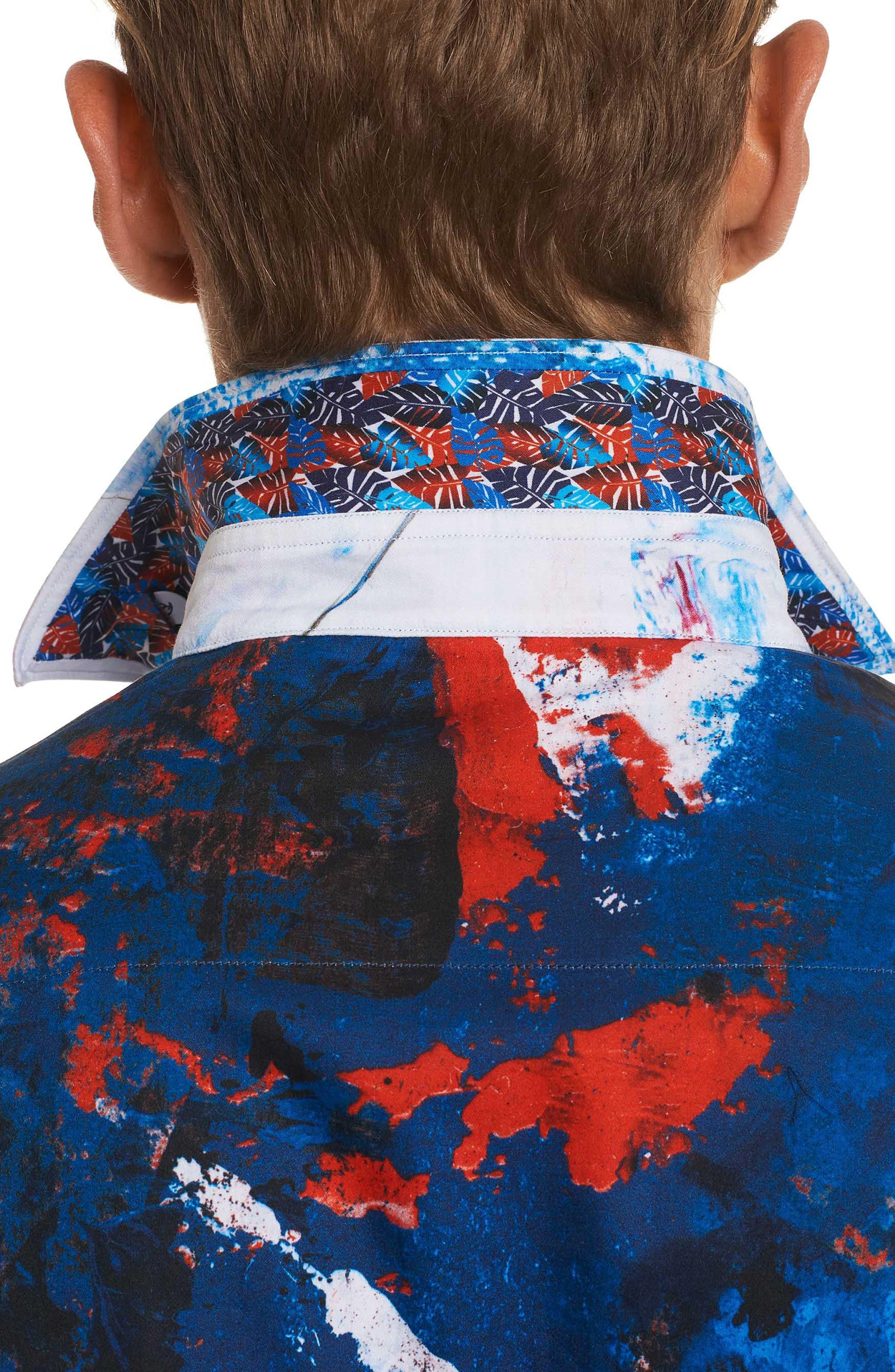 Calzada Classic Fit Sport Shirt,                             Alternate thumbnail 6, color,                             Multi