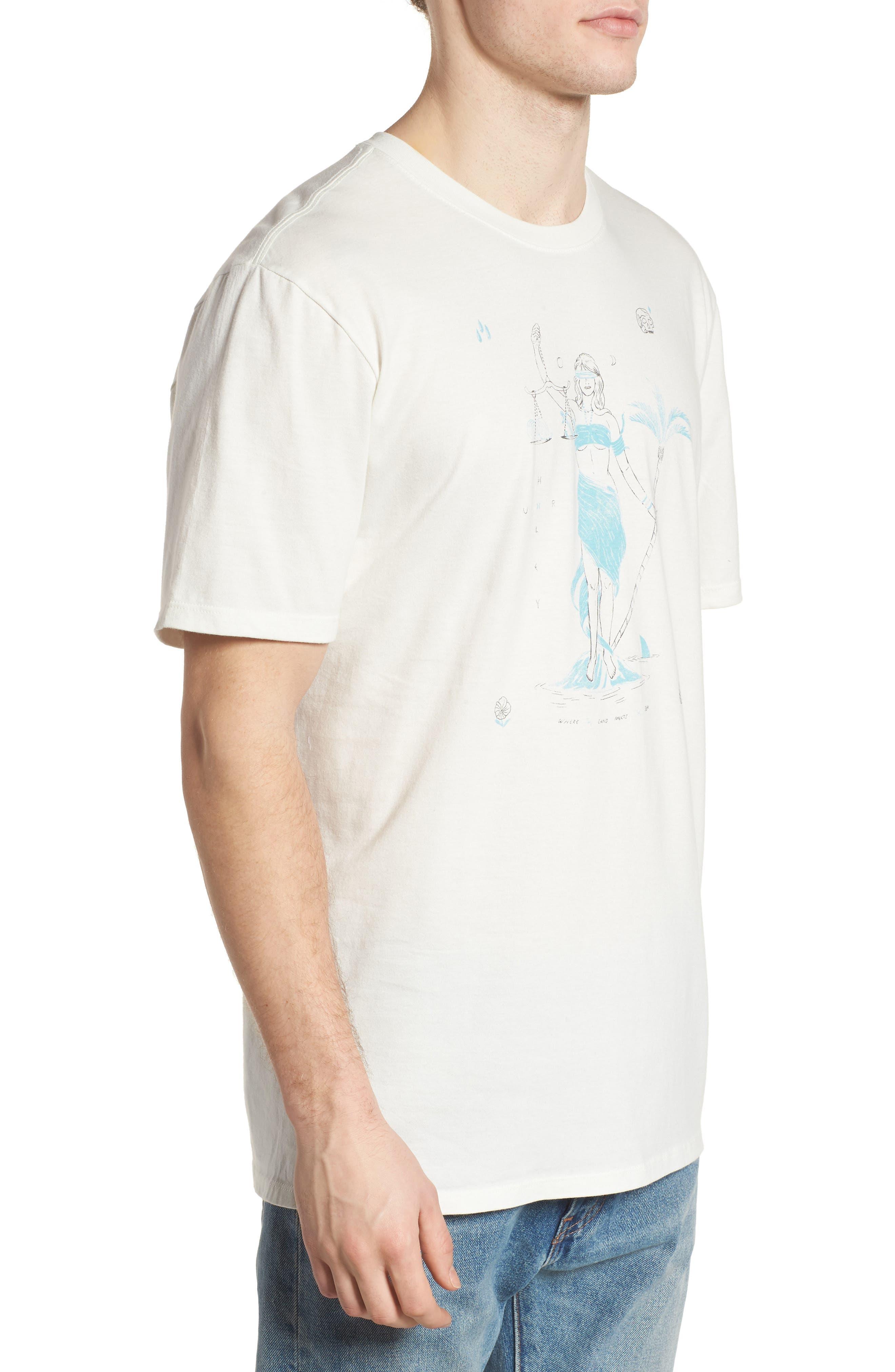 Siren T-Shirt,                             Alternate thumbnail 3, color,                             Sail