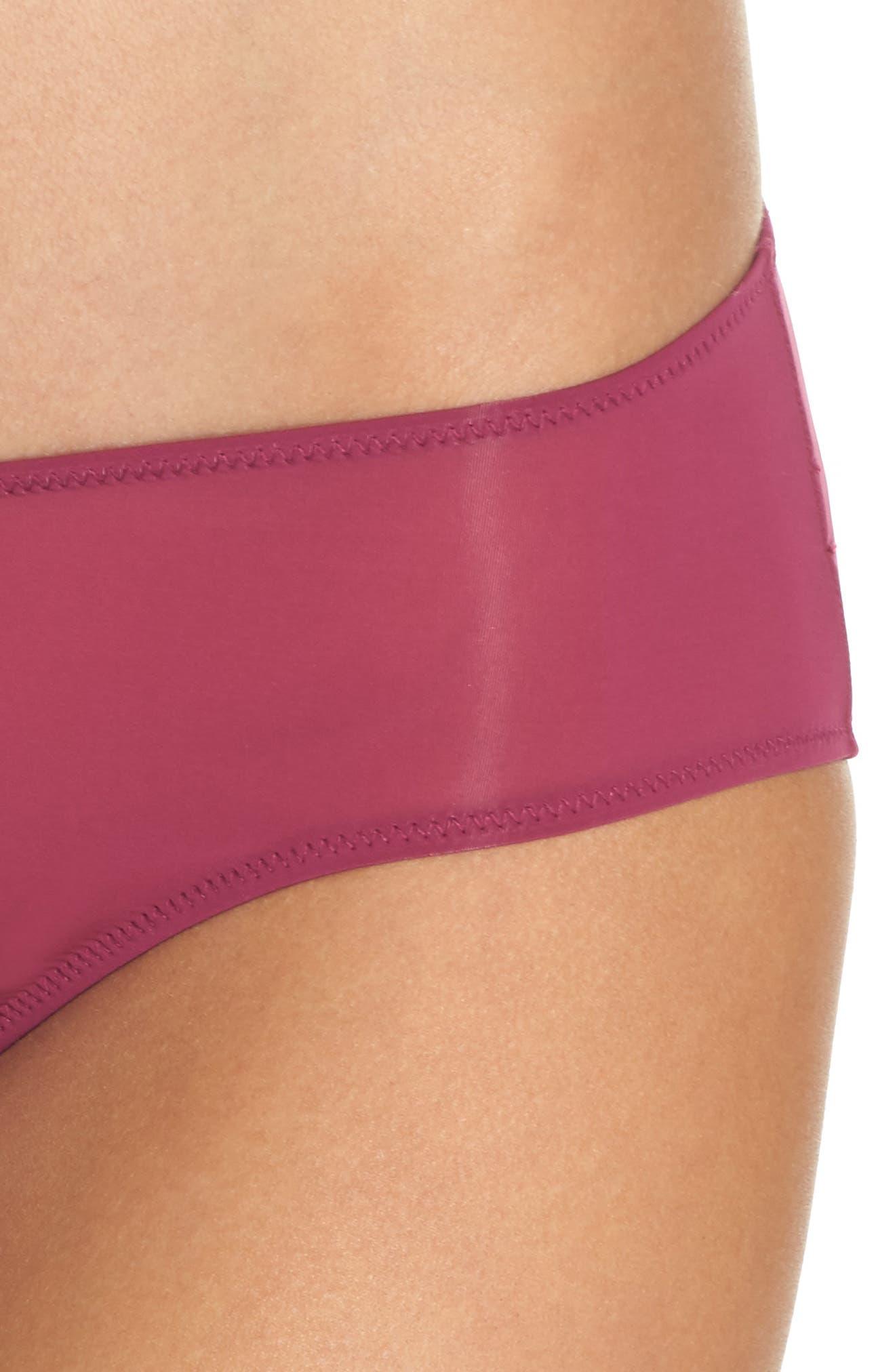 Sheer Mesh Panties,                             Alternate thumbnail 8, color,                             Aubergine